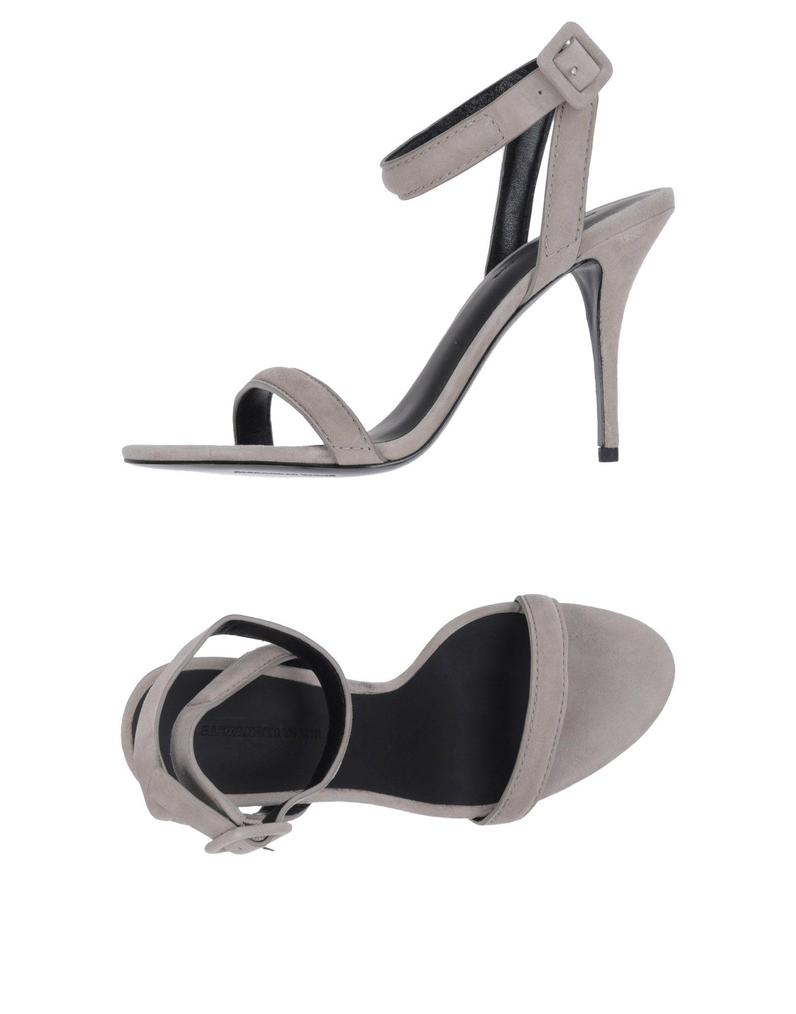Rabatt Schuhe Alexander Wang Sandalen Damen  11170883UR