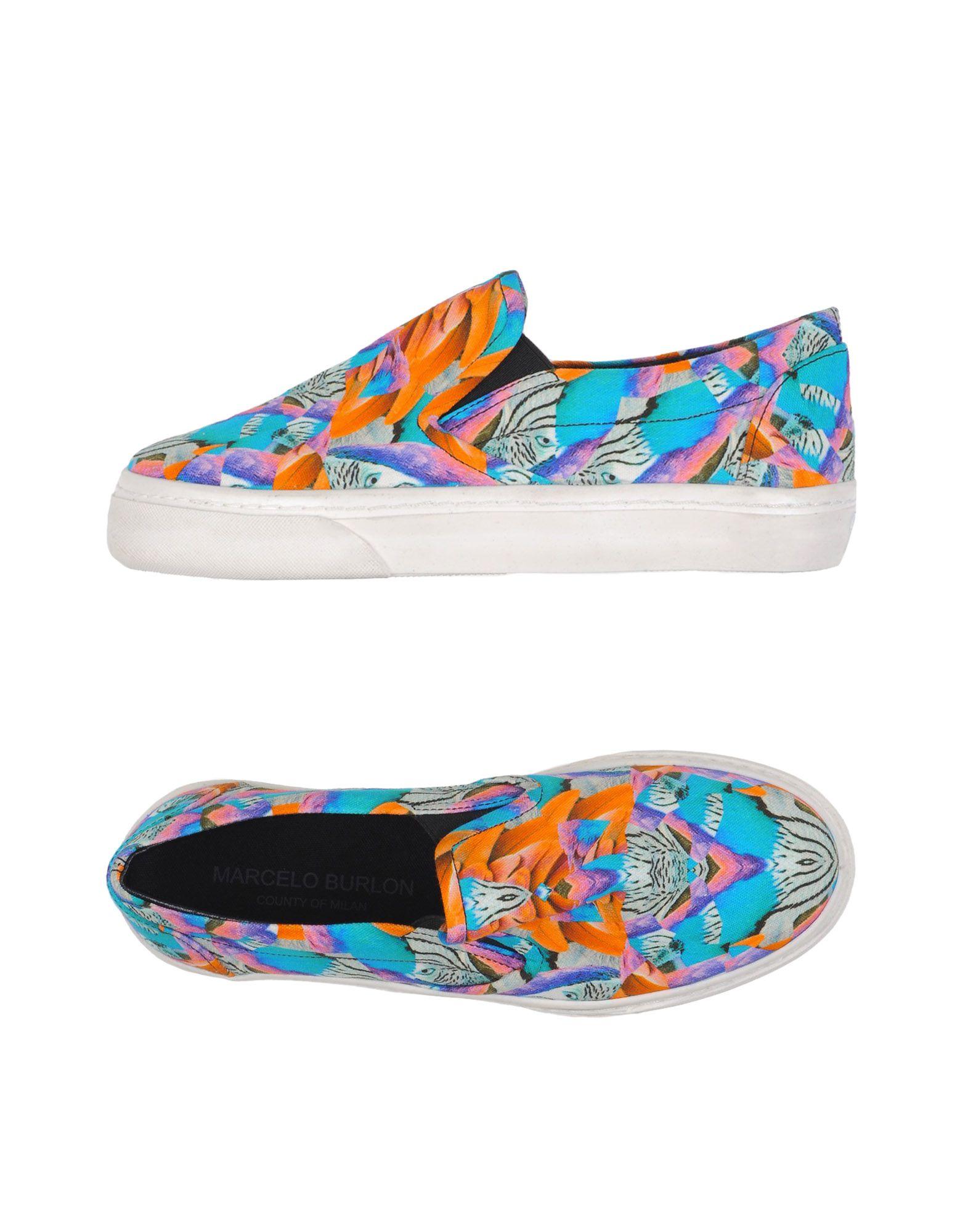 Gut um billige Schuhe zu tragenMarcelo Burlon Sneakers Damen    11172631XR 5176ea