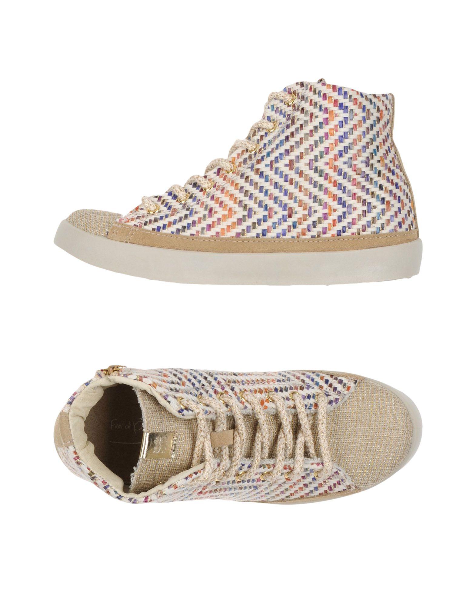 Baskets Fiori Di Picche Femme - Baskets Fiori Di Picche Beige Nouvelles chaussures pour hommes et femmes, remise limitée dans le temps