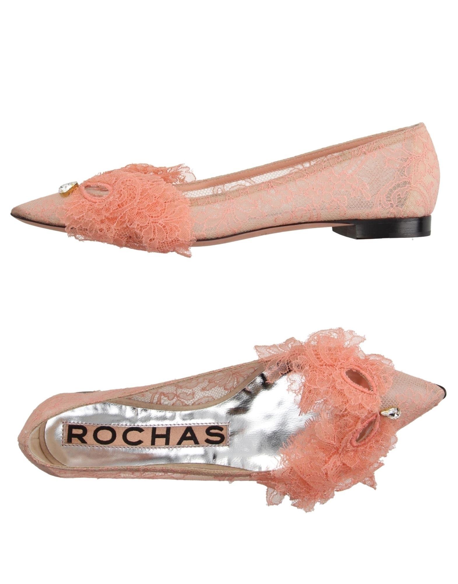 Haltbare Mode billige Schuhe Rochas Ballerinas Damen  11174900QE Heiße Schuhe