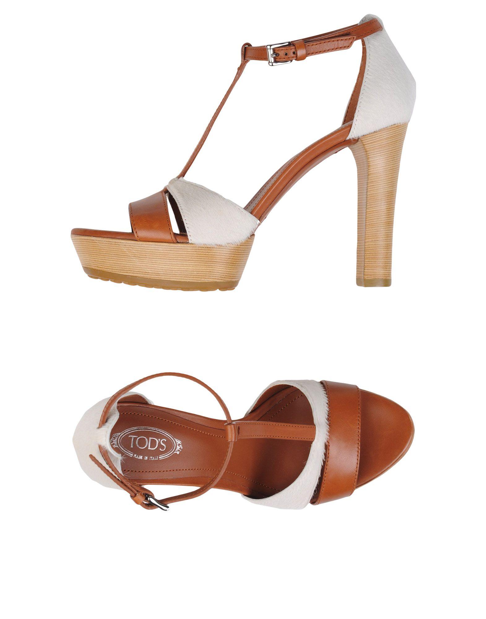 Tod's Sandalen Damen  11175676HNGut aussehende strapazierfähige Schuhe