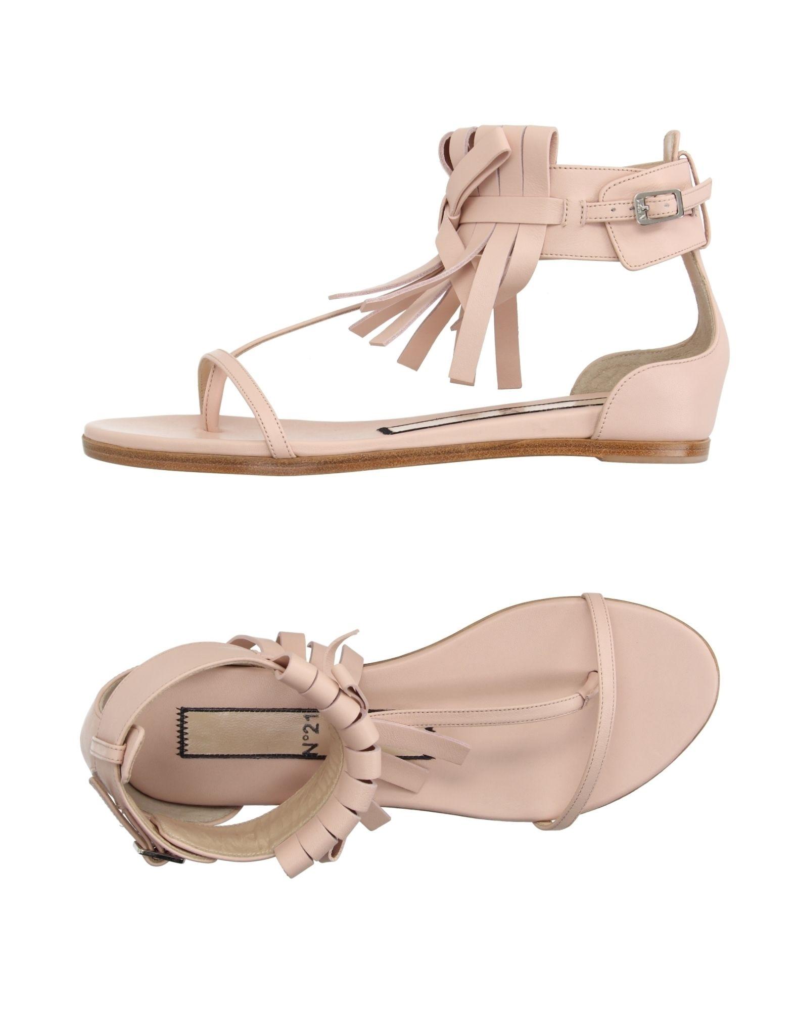 Rabatt Schuhe N° 21 Dianetten Damen  11177178EU