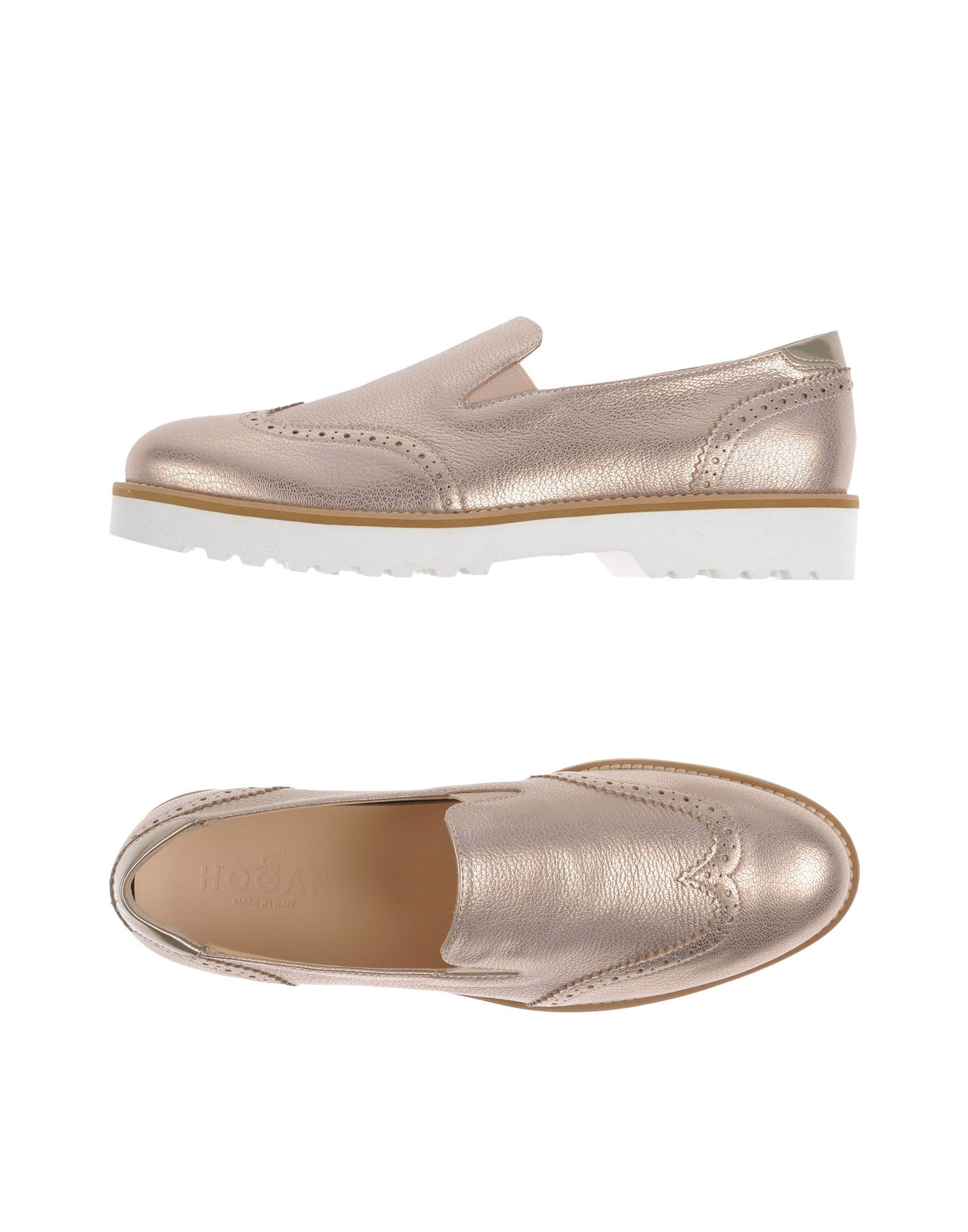Hogan Mokassins Damen  11178266HEGut aussehende strapazierfähige Schuhe
