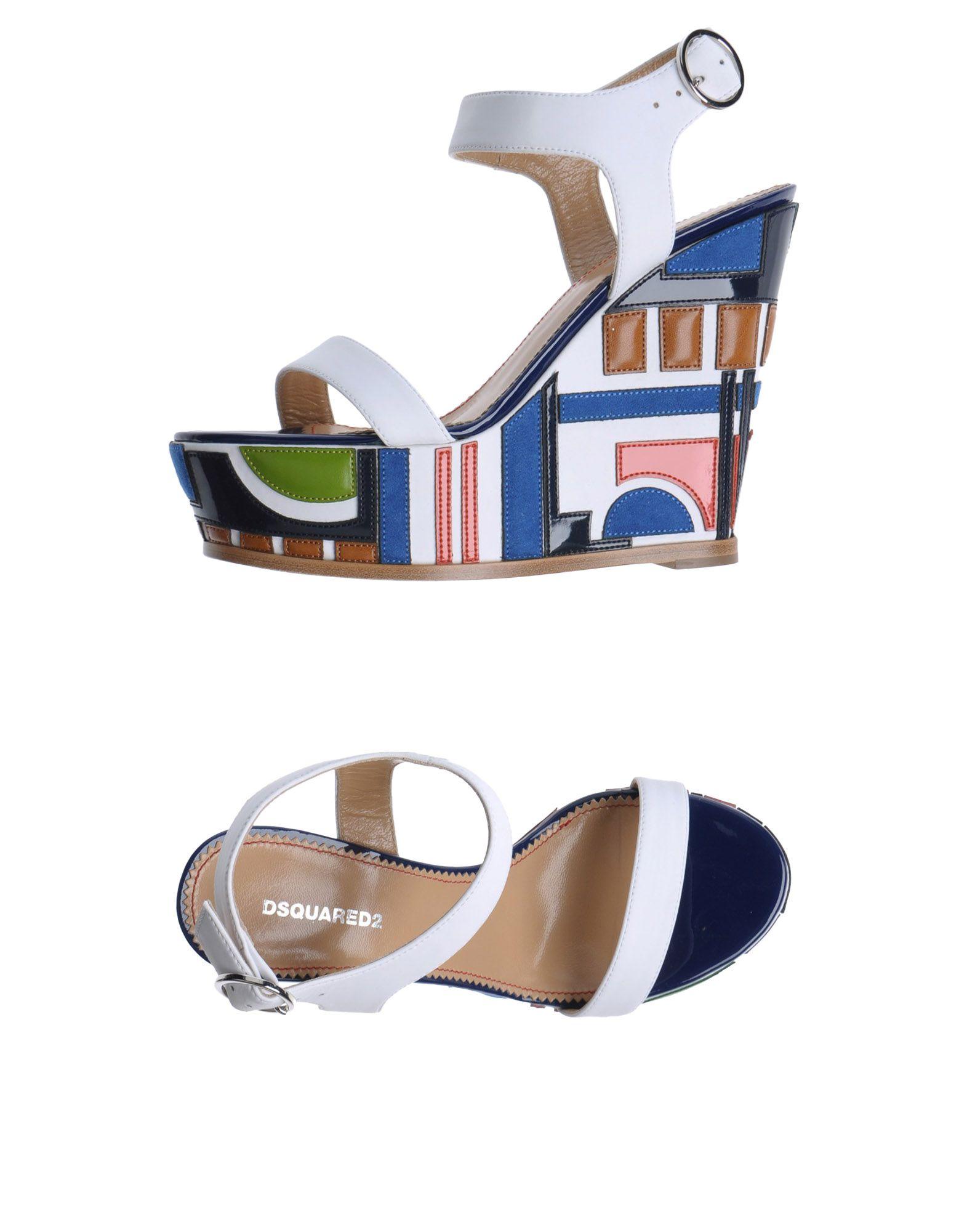 Stilvolle billige  Schuhe Dsquared2 Sandalen Damen  billige 11179586IW c5d4d0