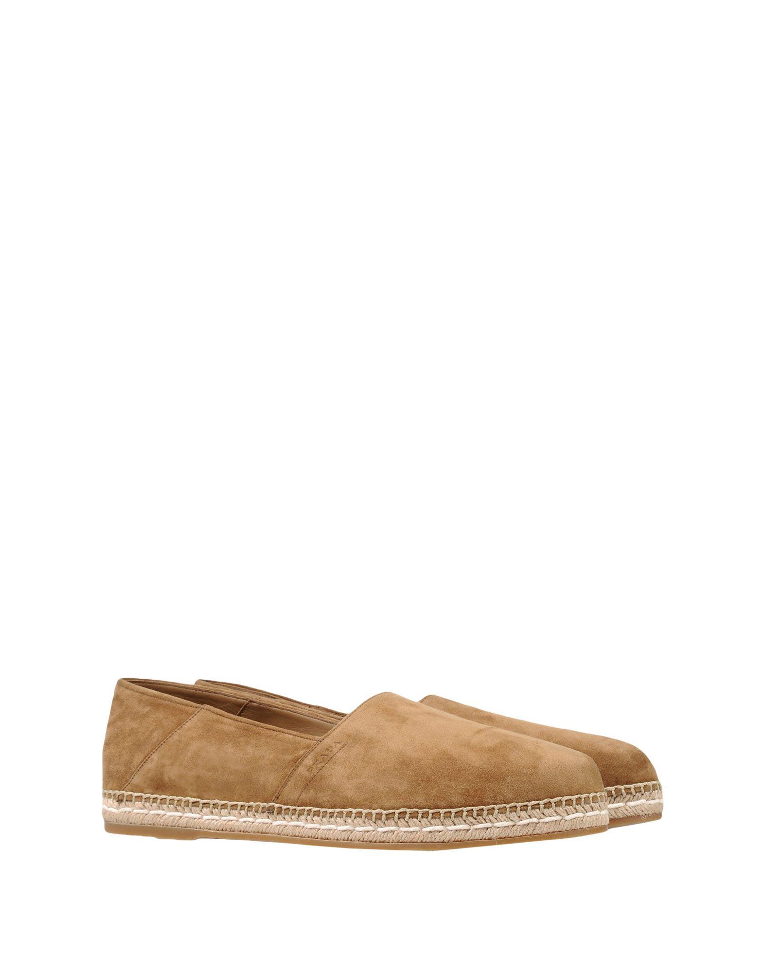 Prada Gute Espadrilles Herren  11181351JA Gute Prada Qualität beliebte Schuhe 731951