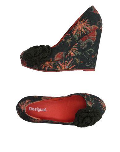 Venta de liquidación de temporada Zapato - De Salón Desigual Mujer - Zapato Salones Desigual - 11181478CI Verde oscuro d43392