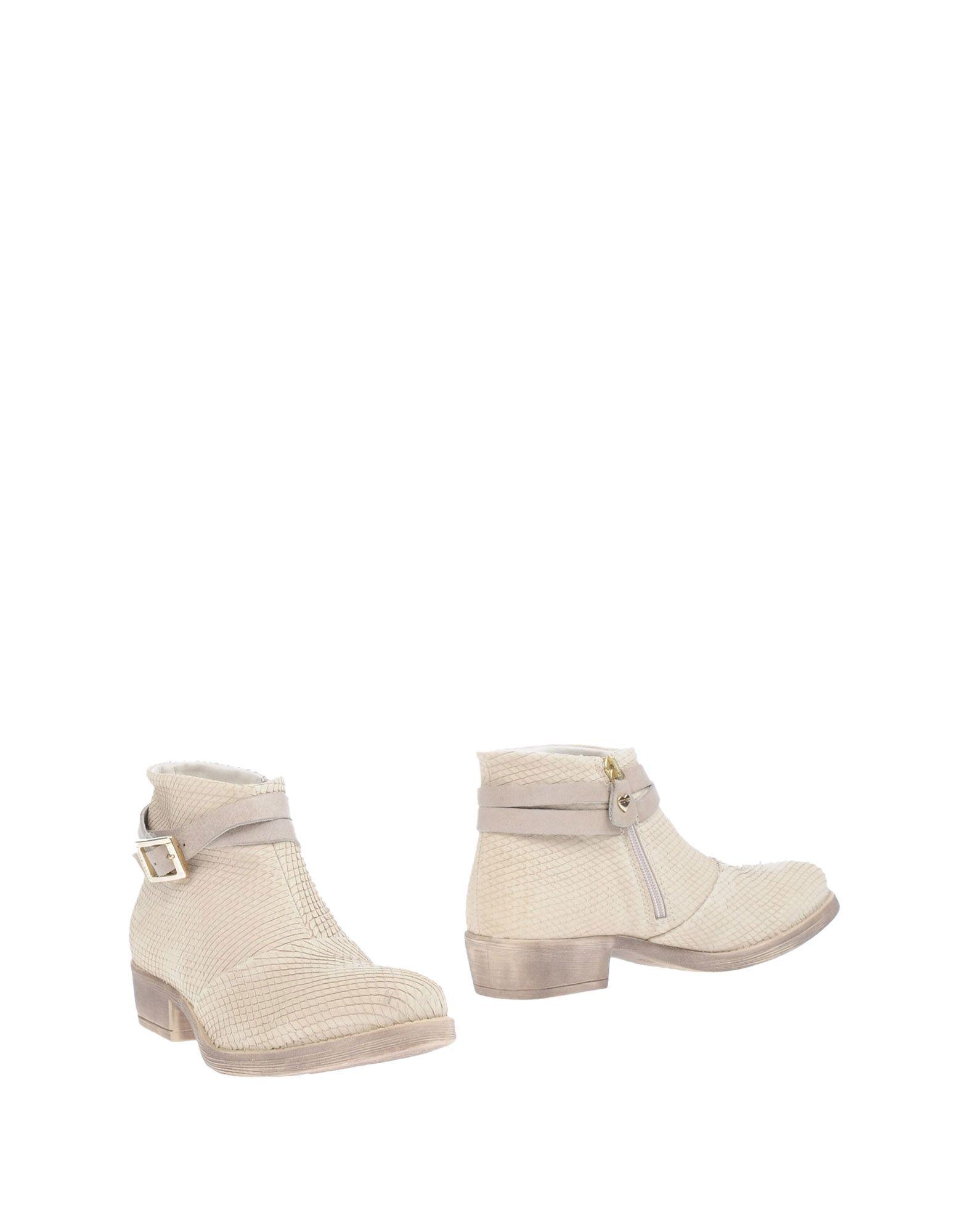Bottine Twin-Set Simona Barbieri Femme - Bottines Twin-Set Simona Barbieri Beige Dernières chaussures discount pour hommes et femmes