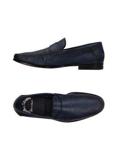 Zapatos con descuento Mocasín Santoni Hombre - Mocasines Santoni - 11183133OA Azul oscuro