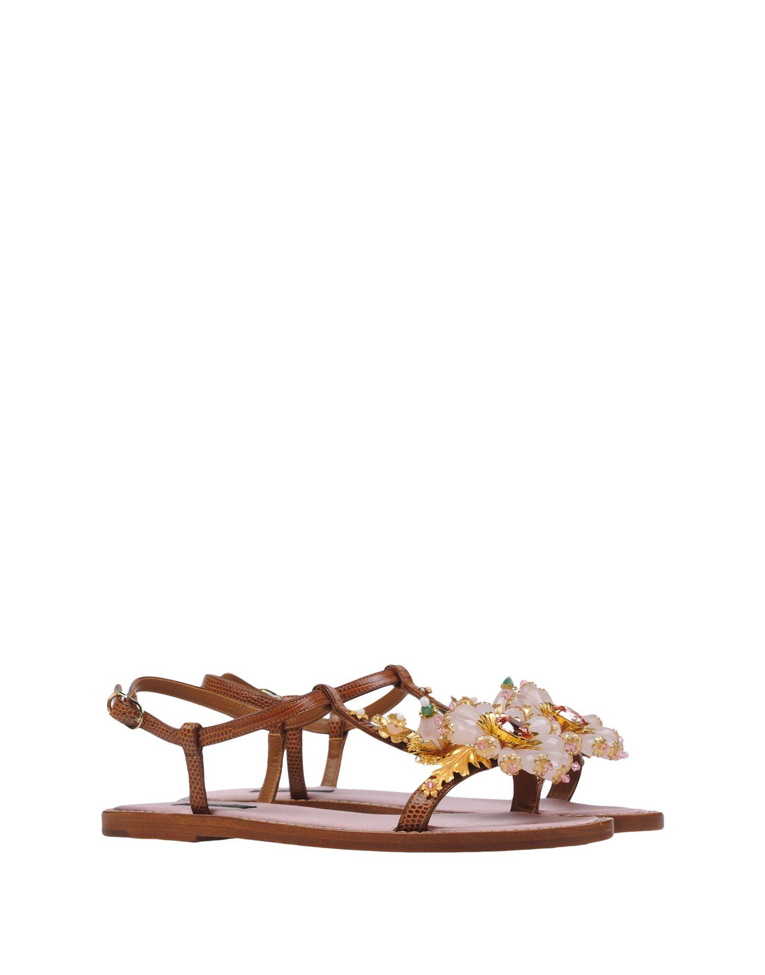 Dolce & Gabbana Sandalen Damen Schuhe  11183550DUGünstige gut aussehende Schuhe Damen 3d0459