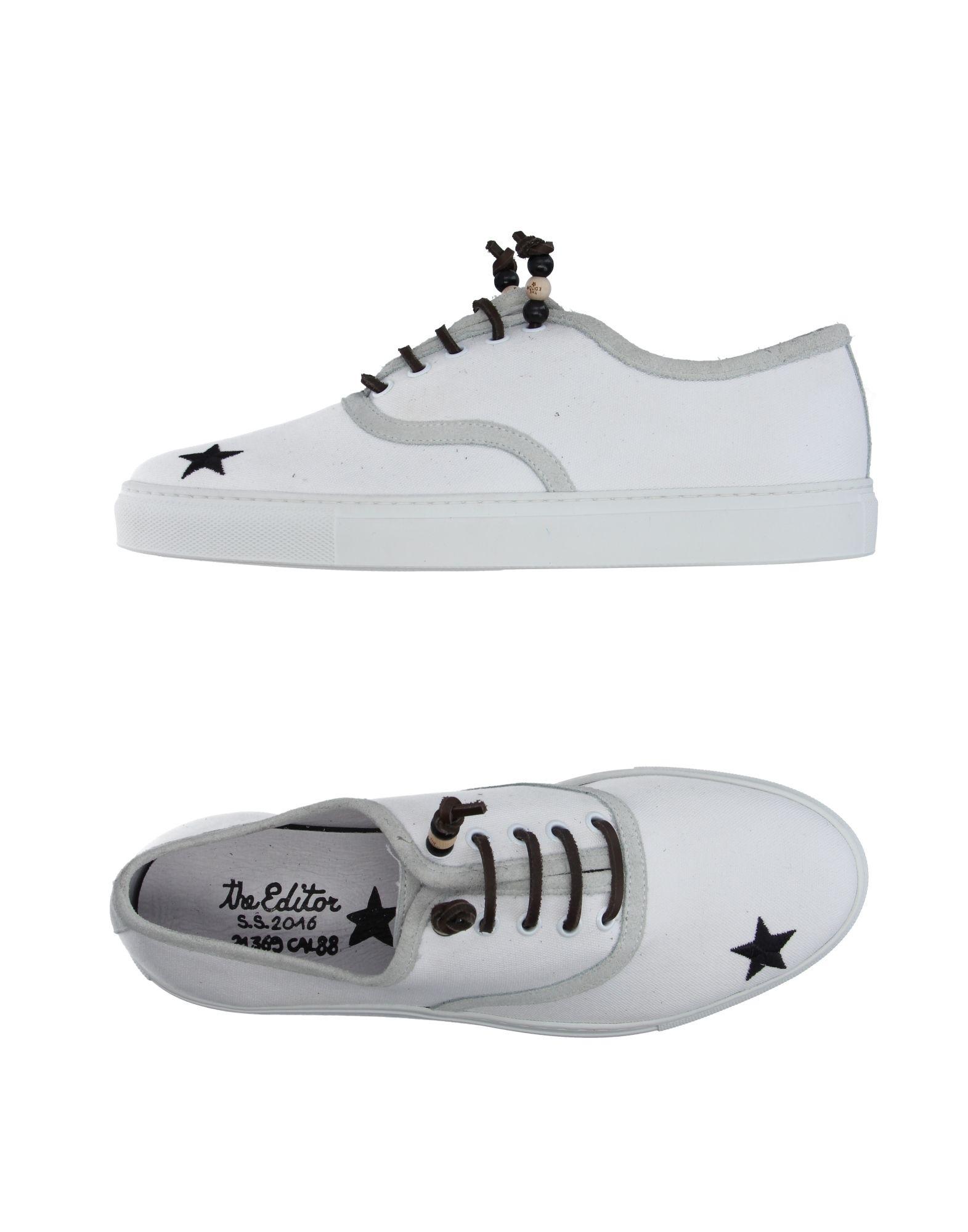 Rabatt echte Schuhe The Editor Sneakers Herren  11183591IH