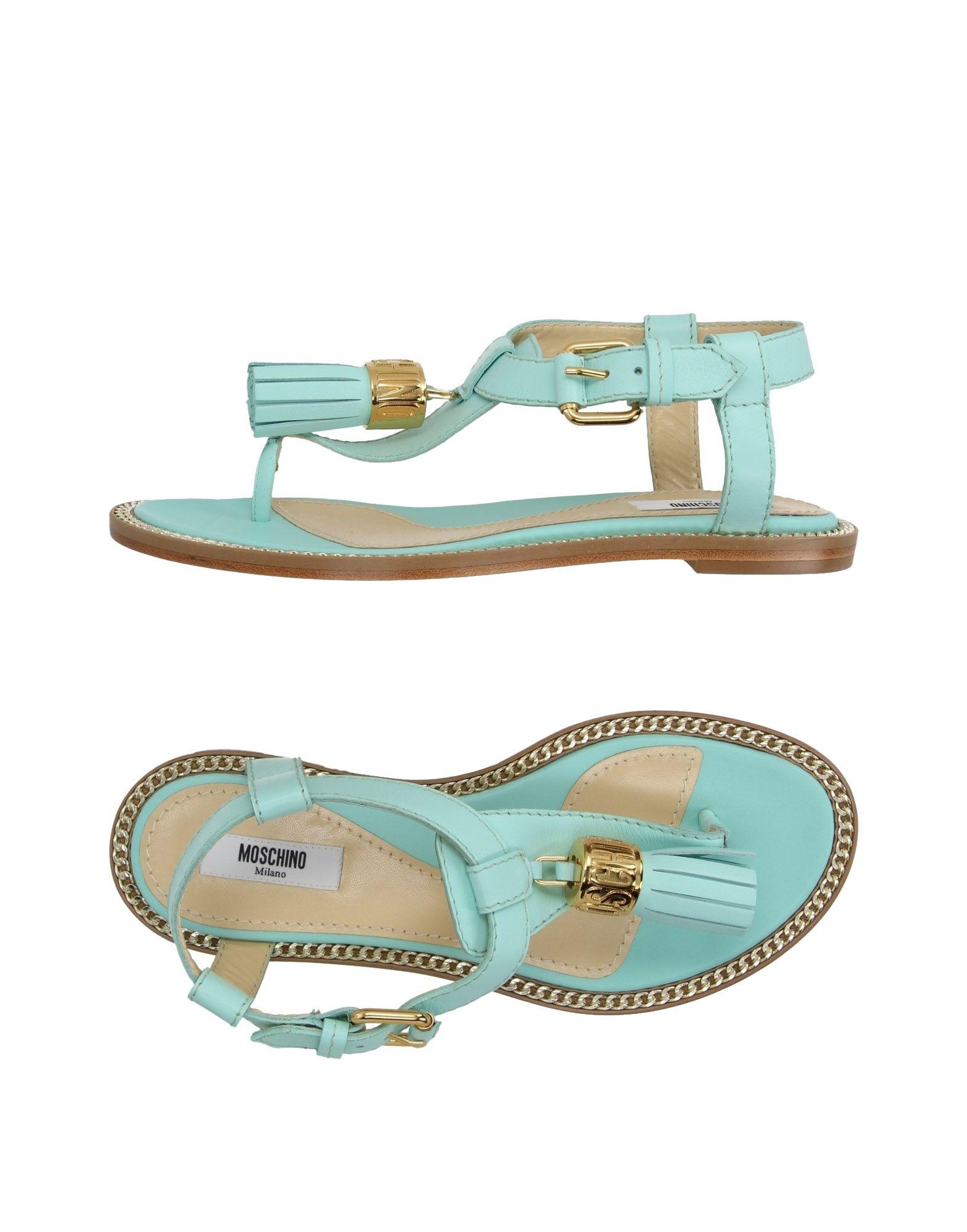 Stilvolle billige Schuhe Moschino Dianetten Damen  11183650CX