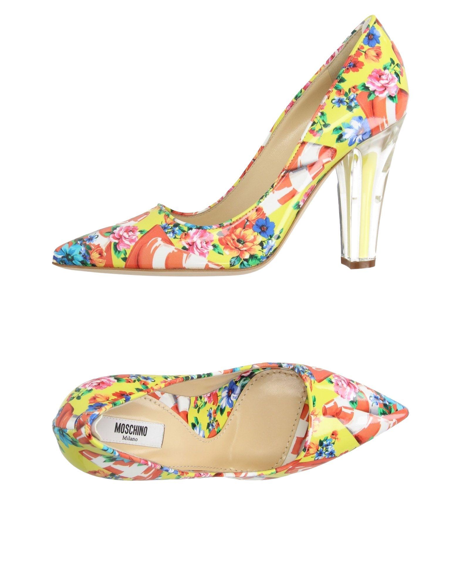Stilvolle billige Schuhe Moschino Pumps Damen  11183669TK