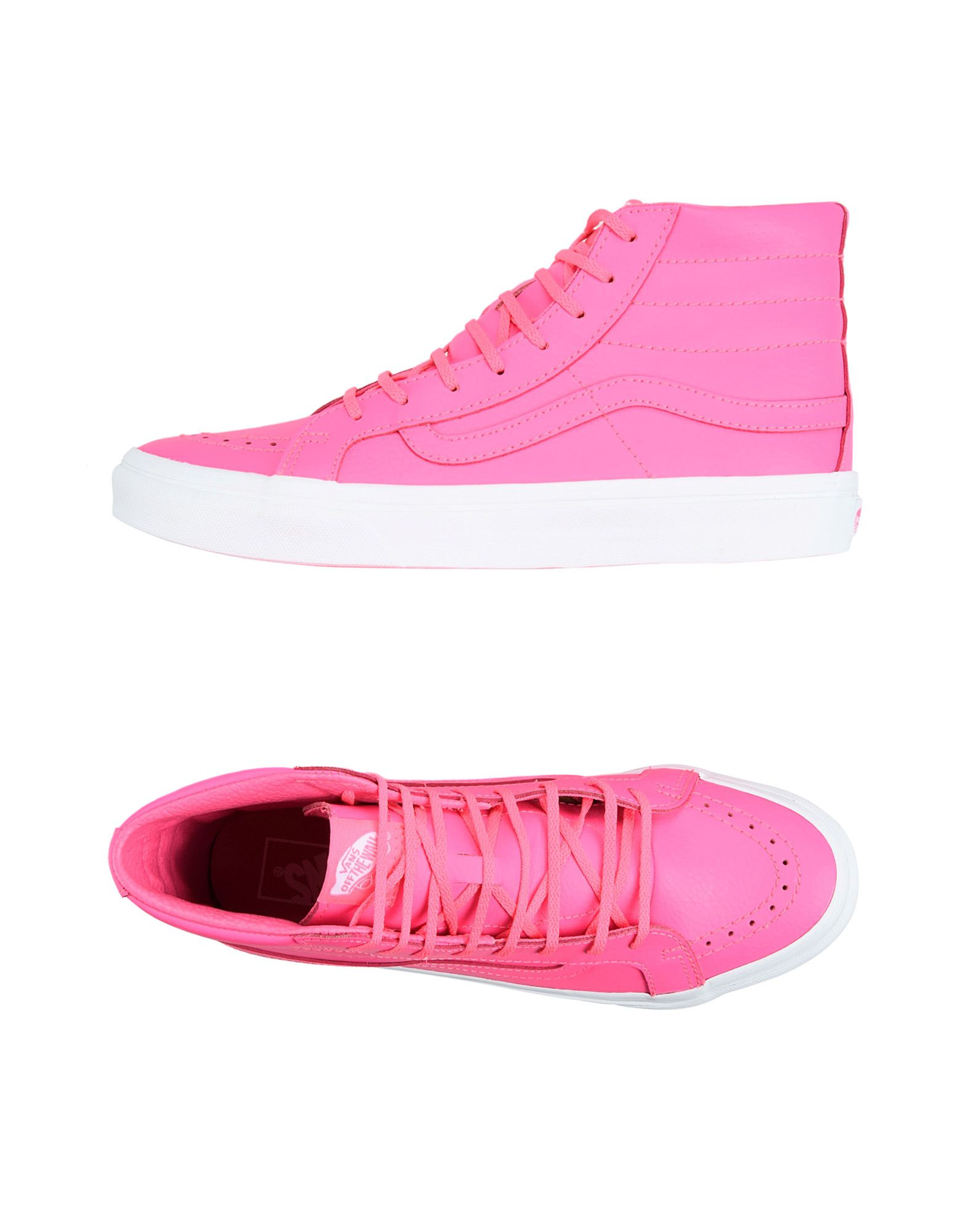 Sneakers Vans Ua Sk8-Hi Slim - Neon Leather - Donna - 11184027CD