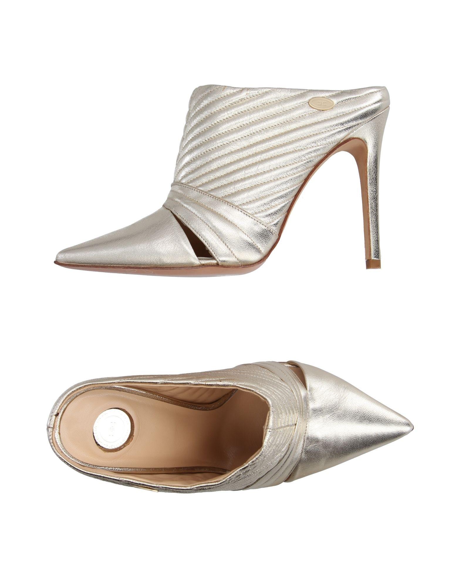 Elisabetta Franchi Pantoletten aussehende Damen  11184074VHGut aussehende Pantoletten strapazierfähige Schuhe 4476d6