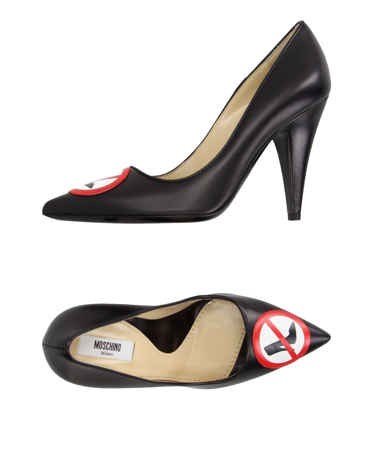 Stilvolle billige Schuhe Moschino Pumps Damen  11184271OT