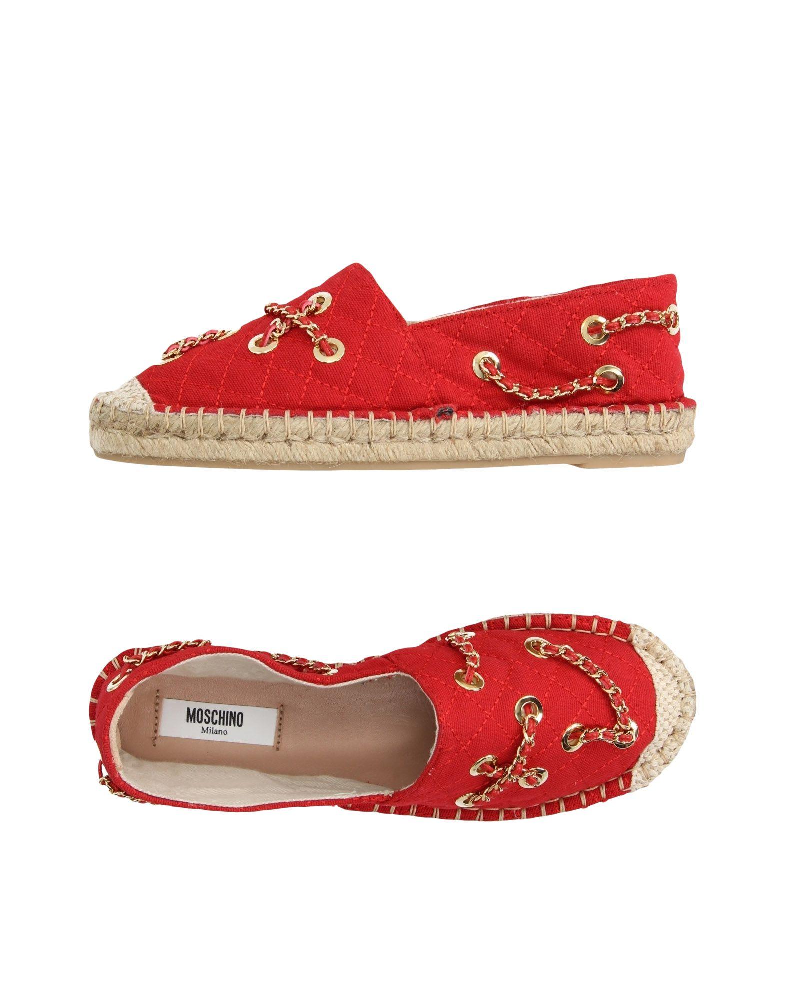 Moschino Heiße Espadrilles Damen  11184282ID Heiße Moschino Schuhe 07d3c9