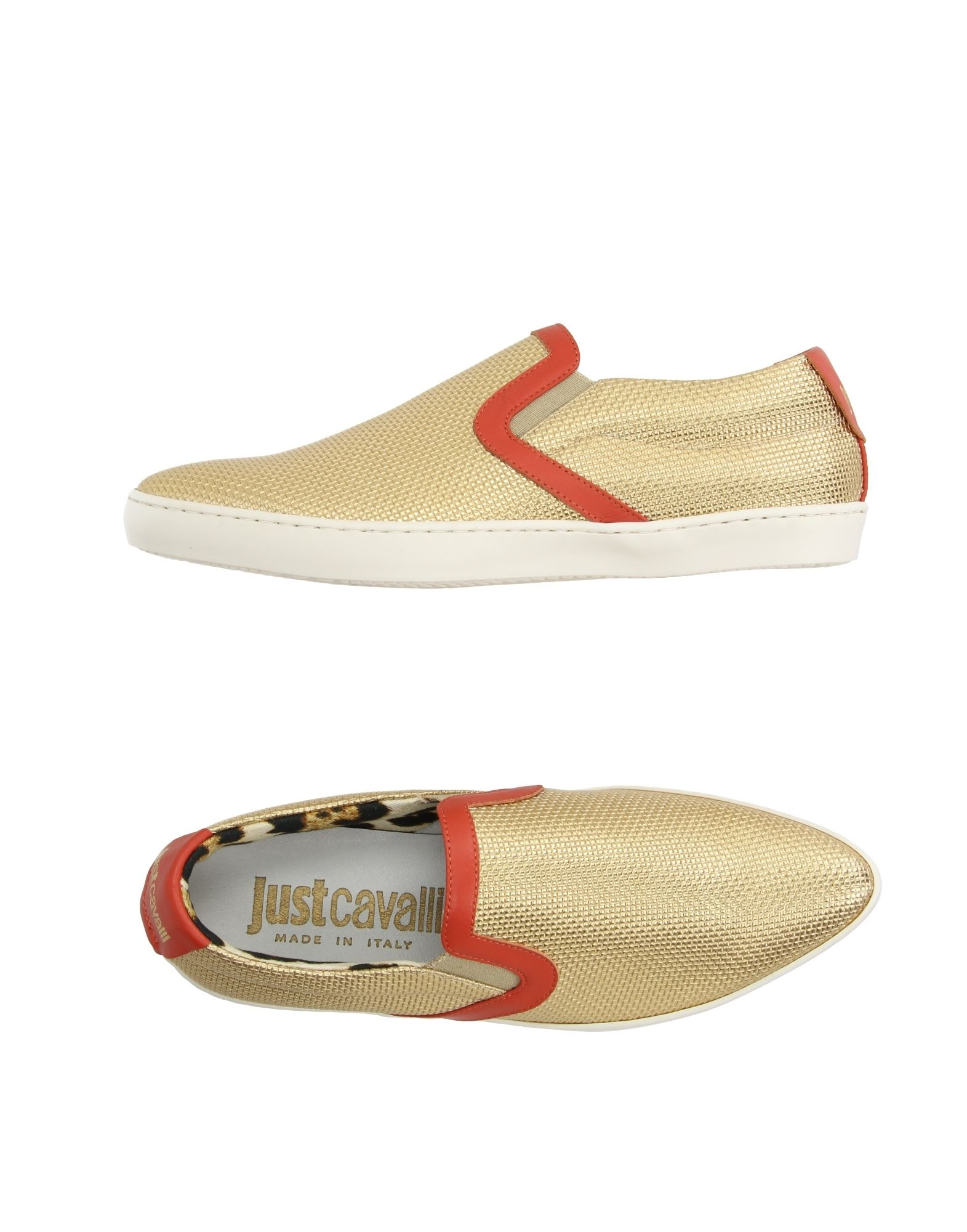 Moda barata y hermosa Zapatillas Zapatillas Just Cavalli Mujer - Zapatillas Zapatillas Just Cavalli  Oro 76e15b