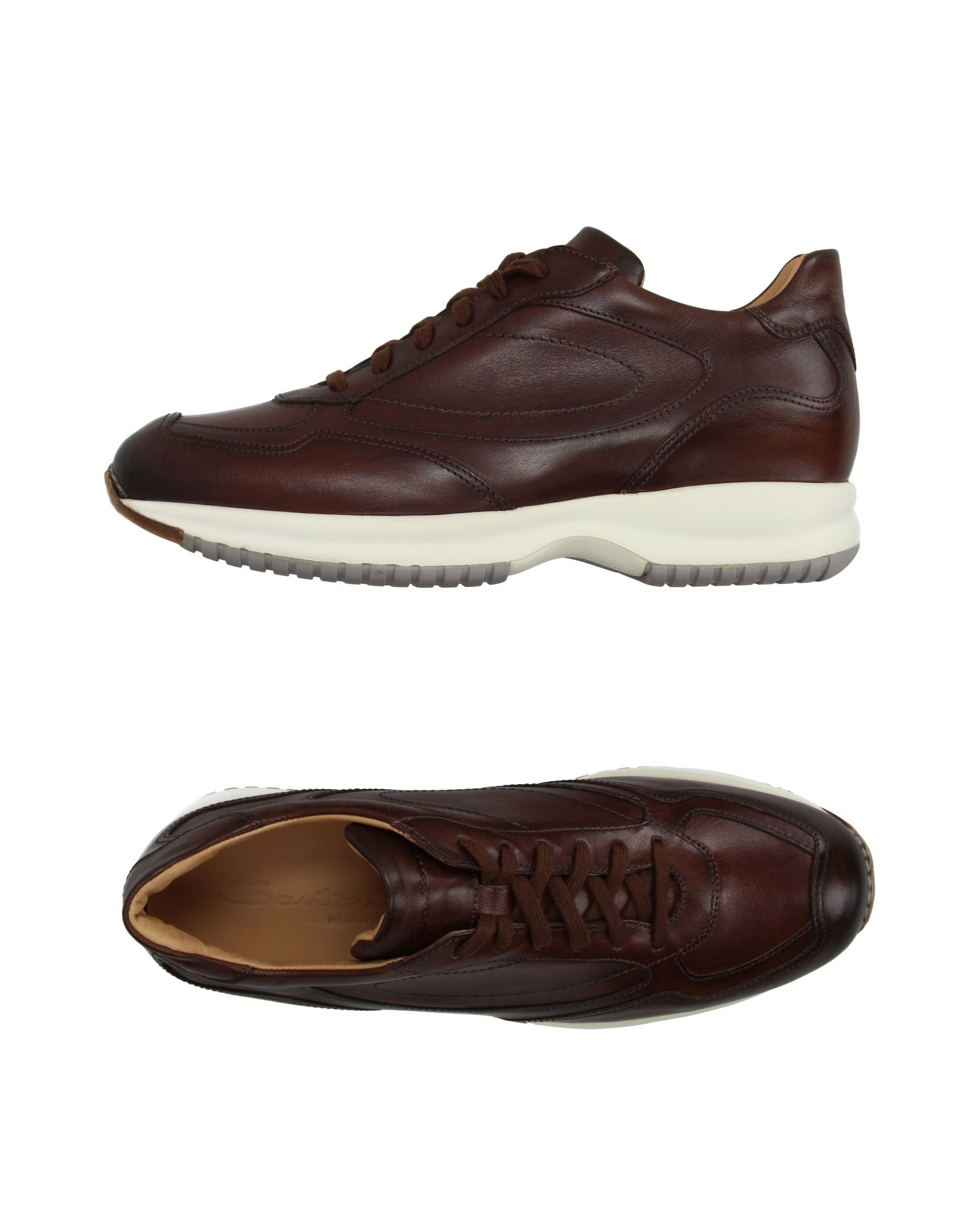 Haltbare Mode billige Schuhe Santoni Sneakers Herren  11184992UV Heiße Schuhe