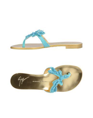 Los últimos hombres zapatos de descuento para hombres últimos y mujeres Sandalias De Dedo Giuseppe Zanotti Mujer - Sandalias De Dedo Giuseppe Zanotti - 11185245GP Azul c7b6c6