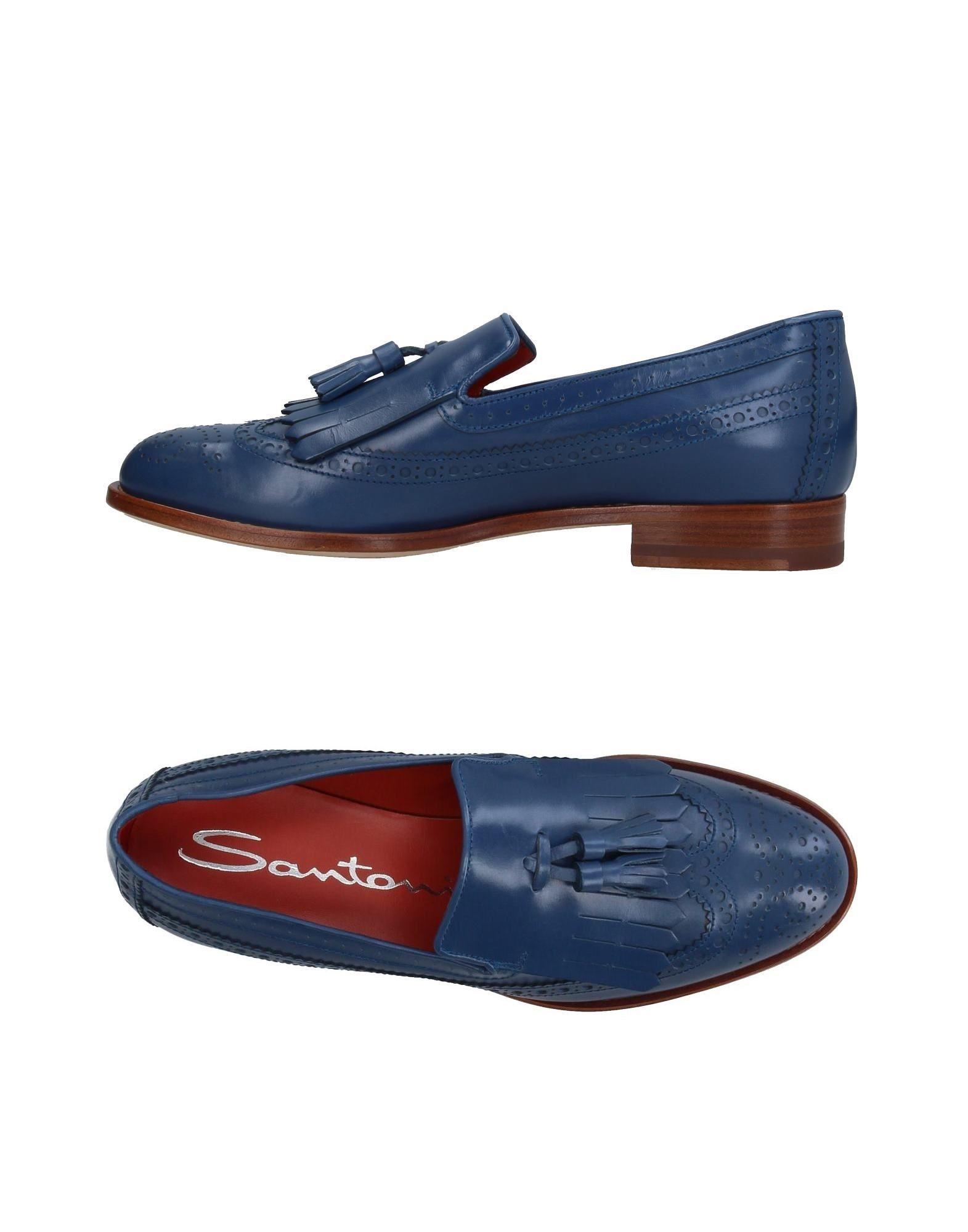 Stilvolle billige Schuhe Santoni Mokassins Damen  11186941SA
