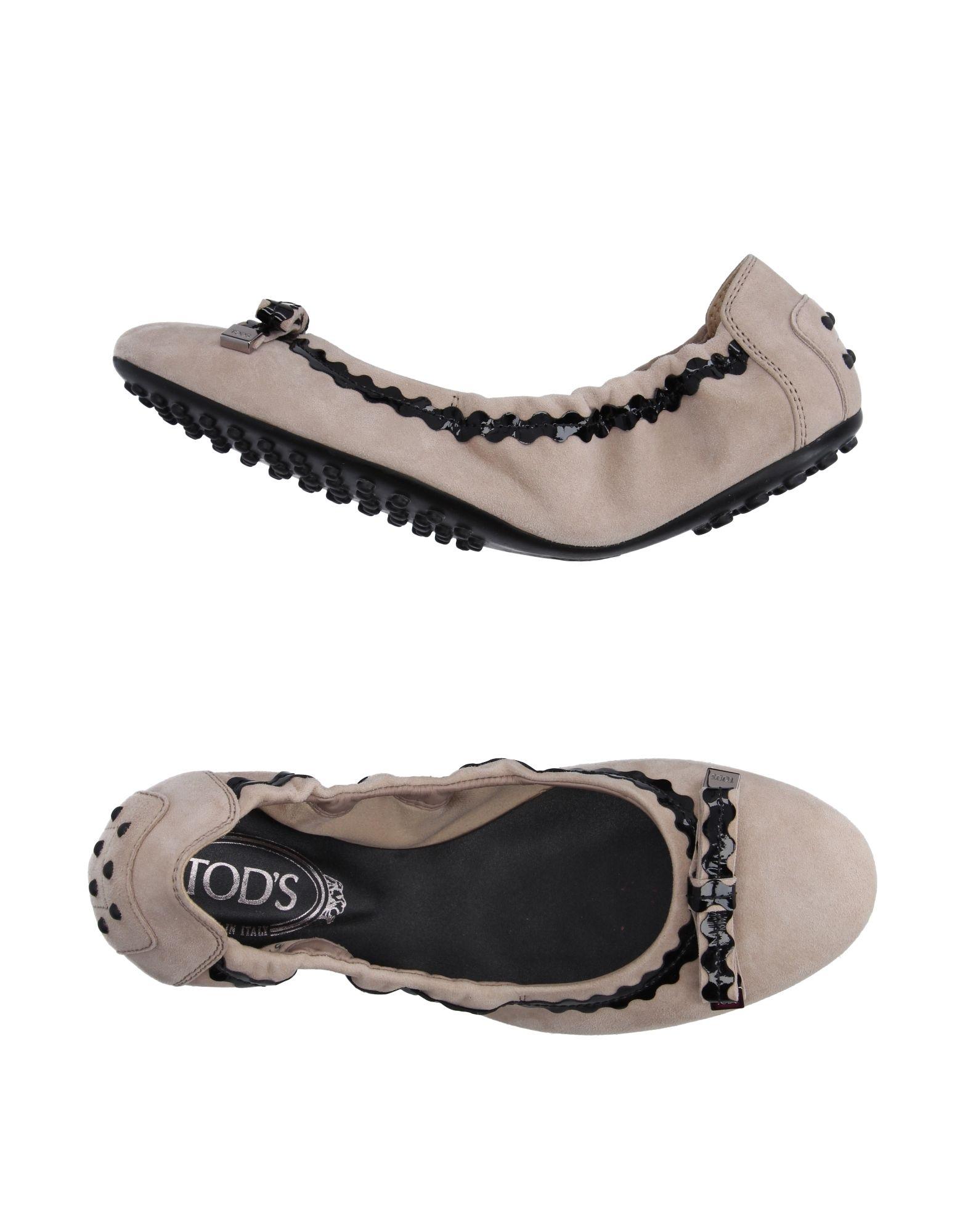 Tod's Tod's Tod's Ballerinas Damen  11187611JM Heiße Schuhe 34ee6a