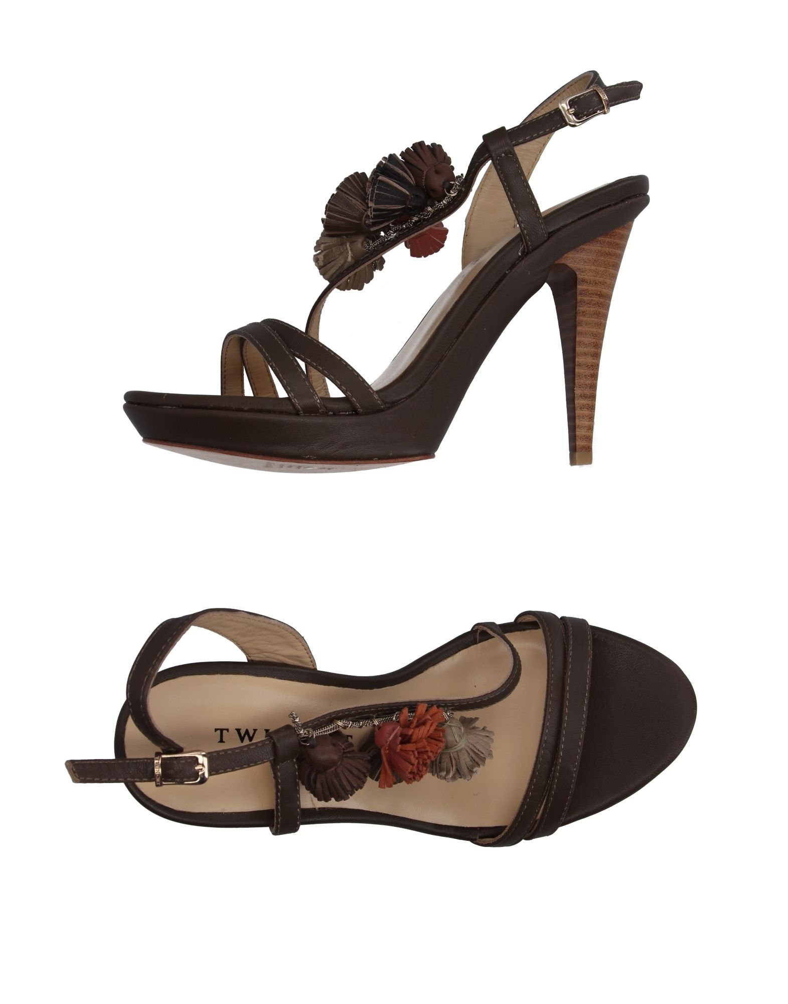 Sandales Twin-Set Simona Barbieri Femme - Sandales Twin-Set Simona Barbieri sur
