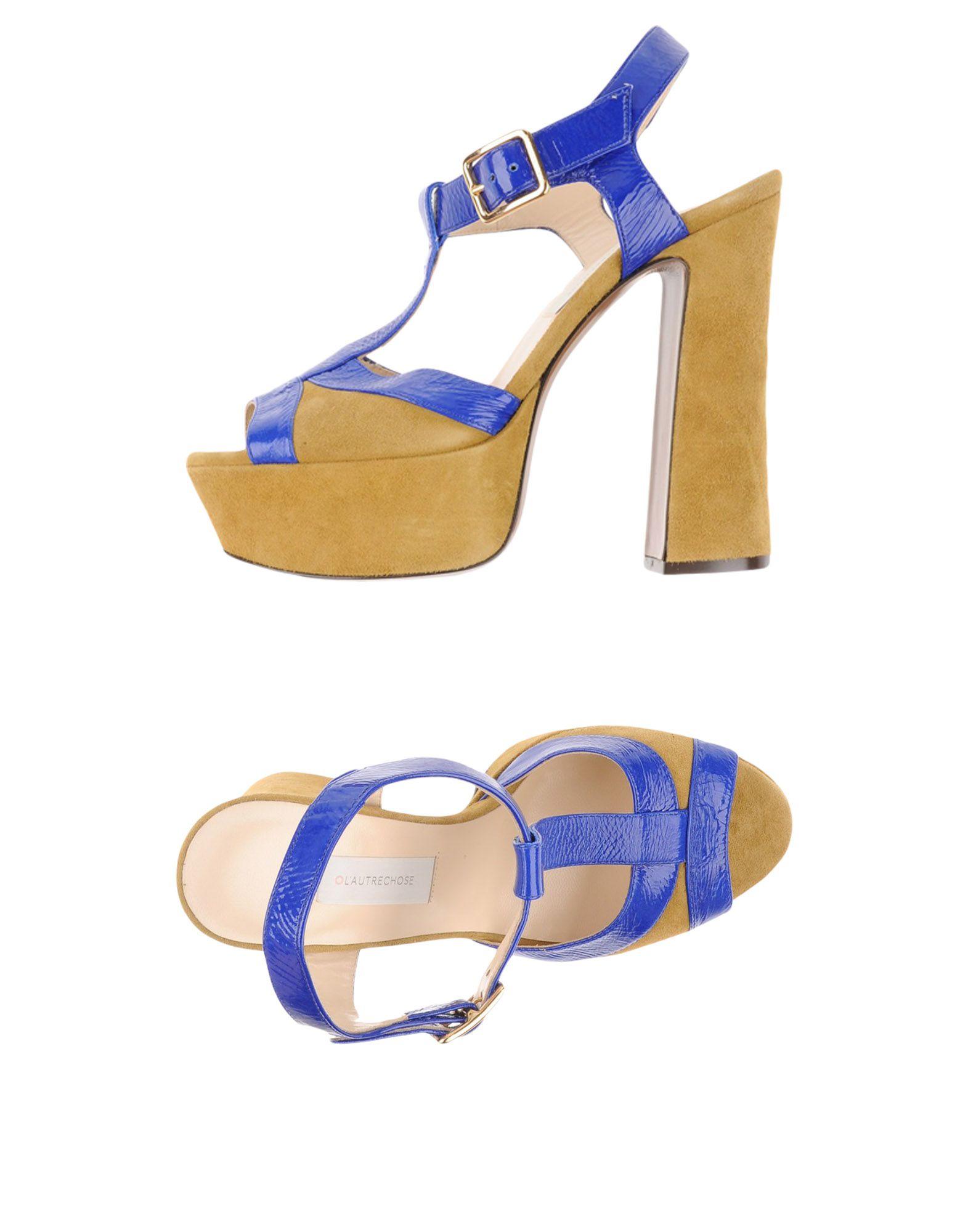 Gut um billige Schuhe zu tragenL' Autre Chose Sandalen Damen  11188865DU