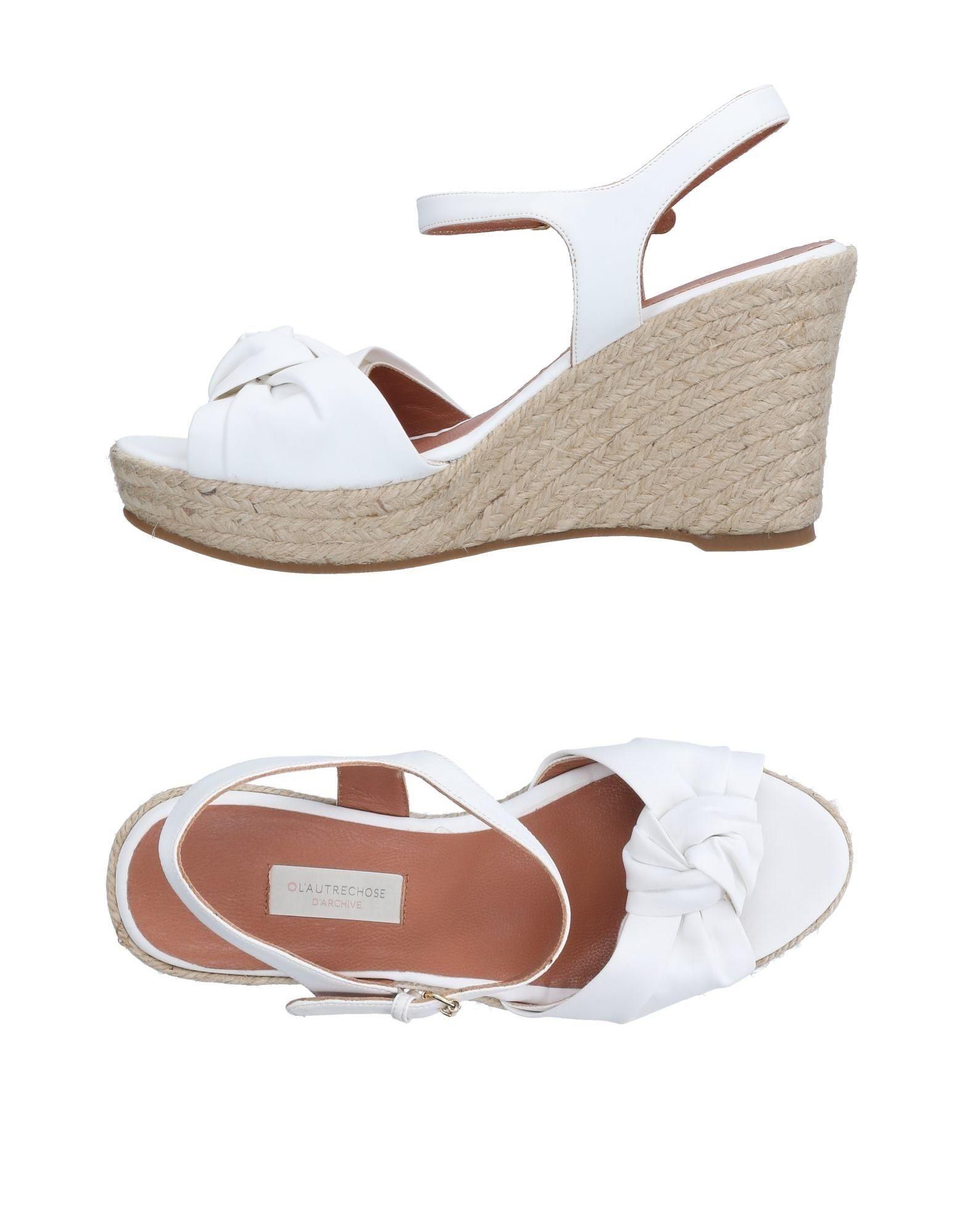 L' Autre Chose Espadrilles Damen  11189189GI Gute Qualität beliebte Schuhe