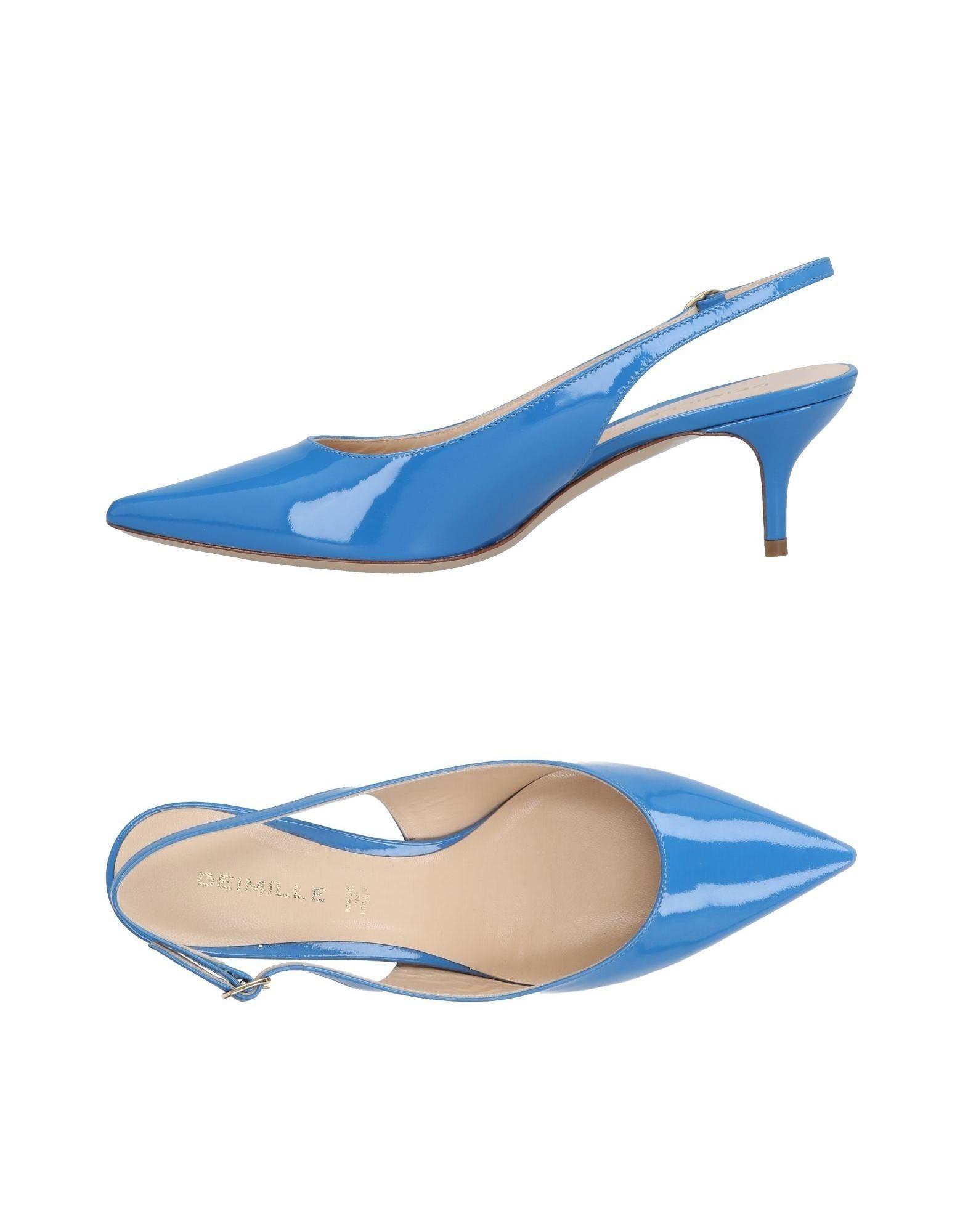 Escarpins Deimille Deimille Femme - Escarpins Deimille Escarpins Bleu Meilleur modèle de vente ecf996
