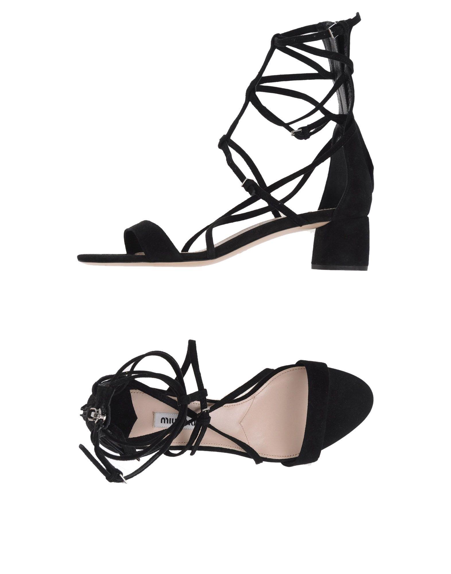 909e87015afa0 Miu Miu Sandals - Women Miu Miu Sandals online on YOOX Lithuania ...