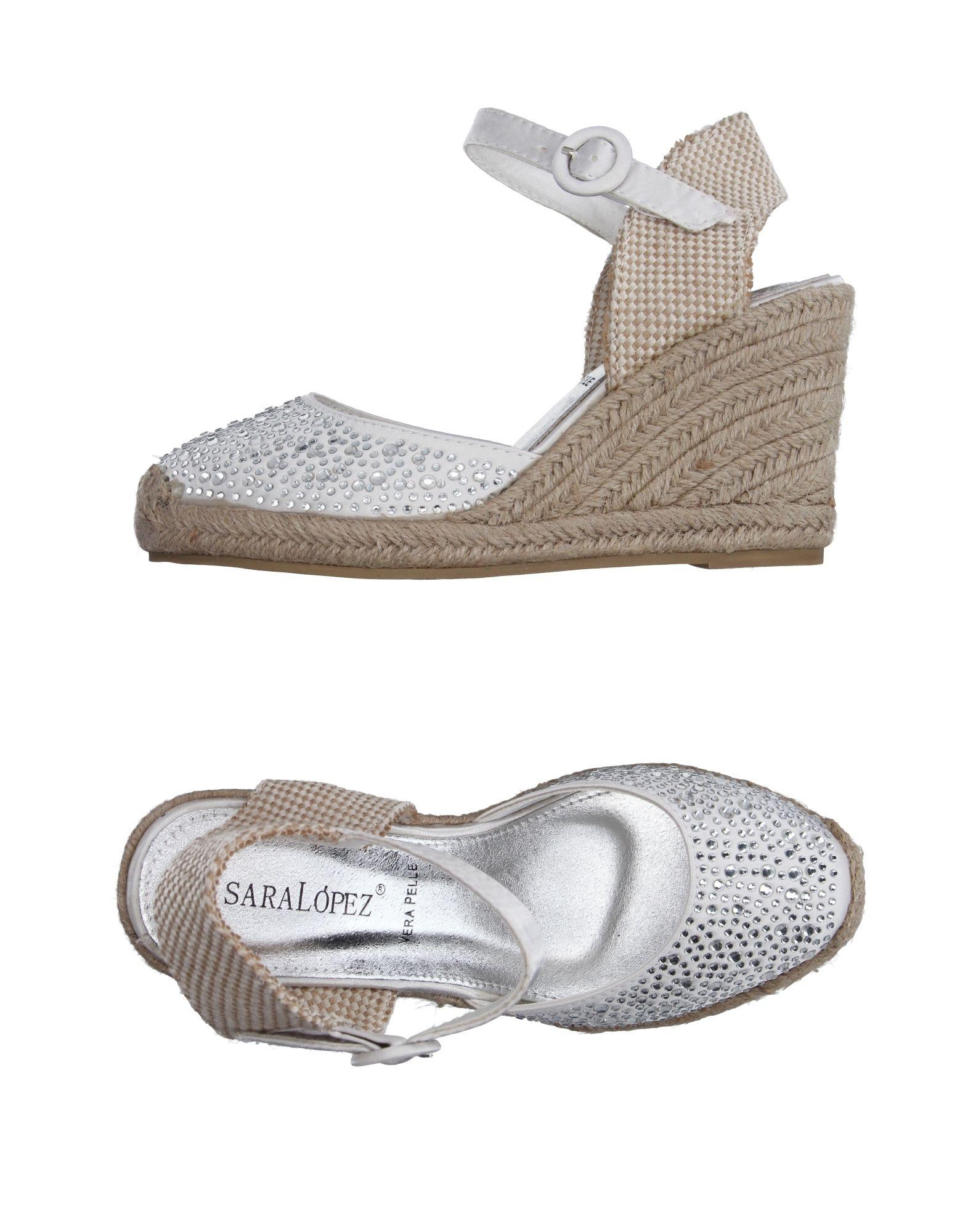 Sara López Espadrilles Damen  11191573GL Gute Qualität beliebte Schuhe