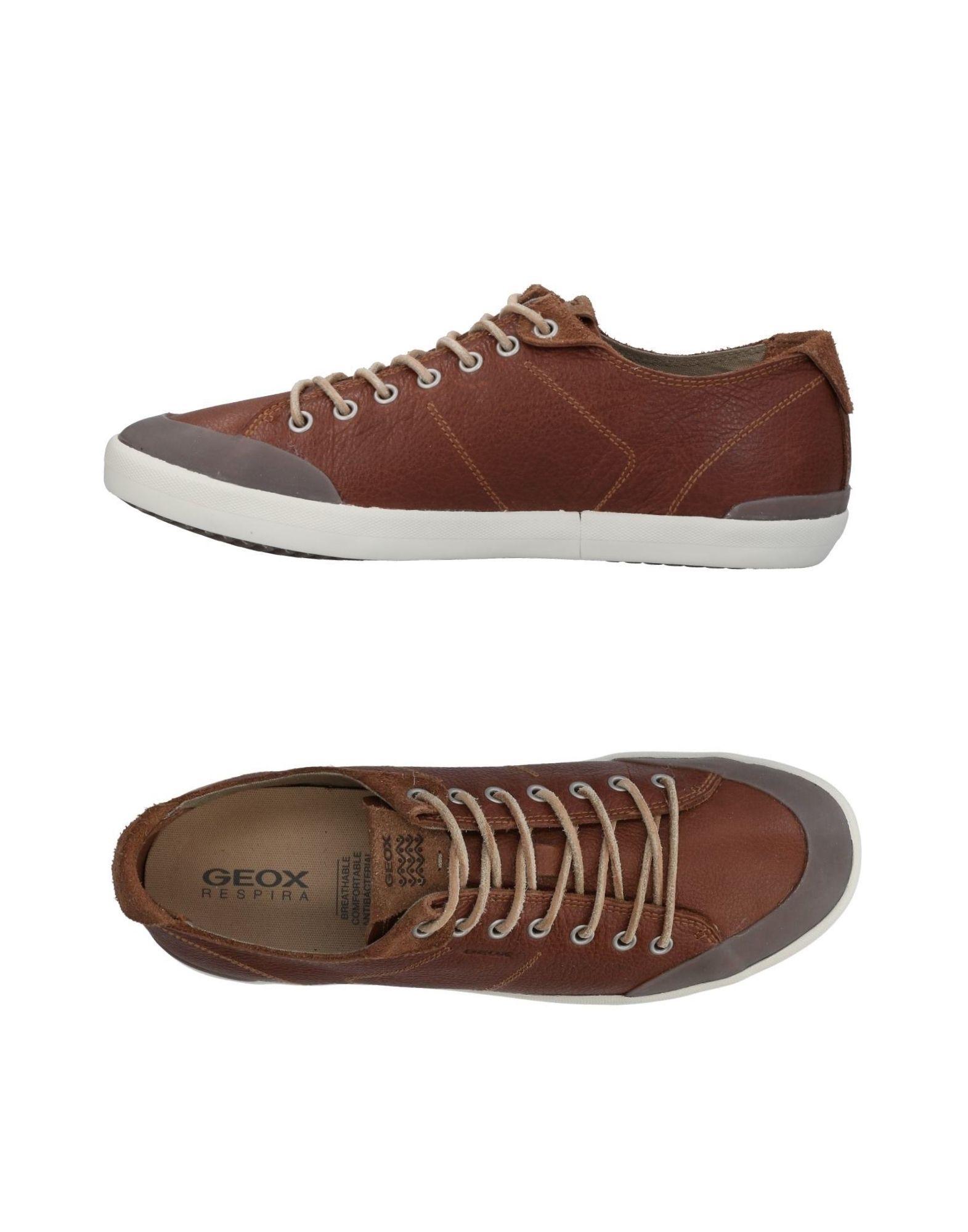 Sneakers Geox Homme - Sneakers Geox  Marron Spécial temps limité