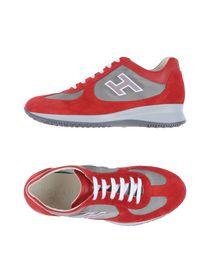 scarpe hogan interactive rosse uomo