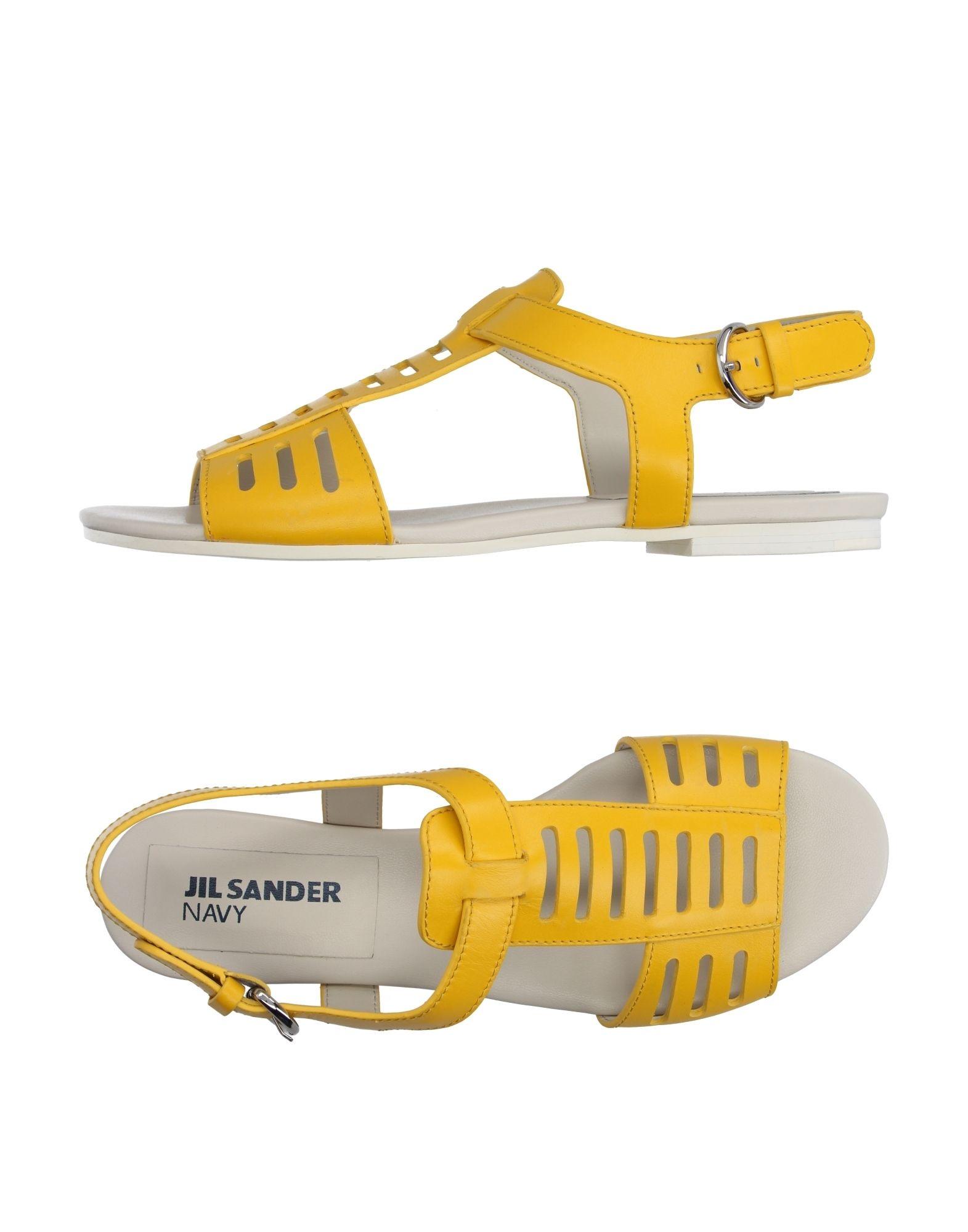 Jil Sander Navy Sandalen Damen  11193642NO Gute Qualität beliebte Schuhe