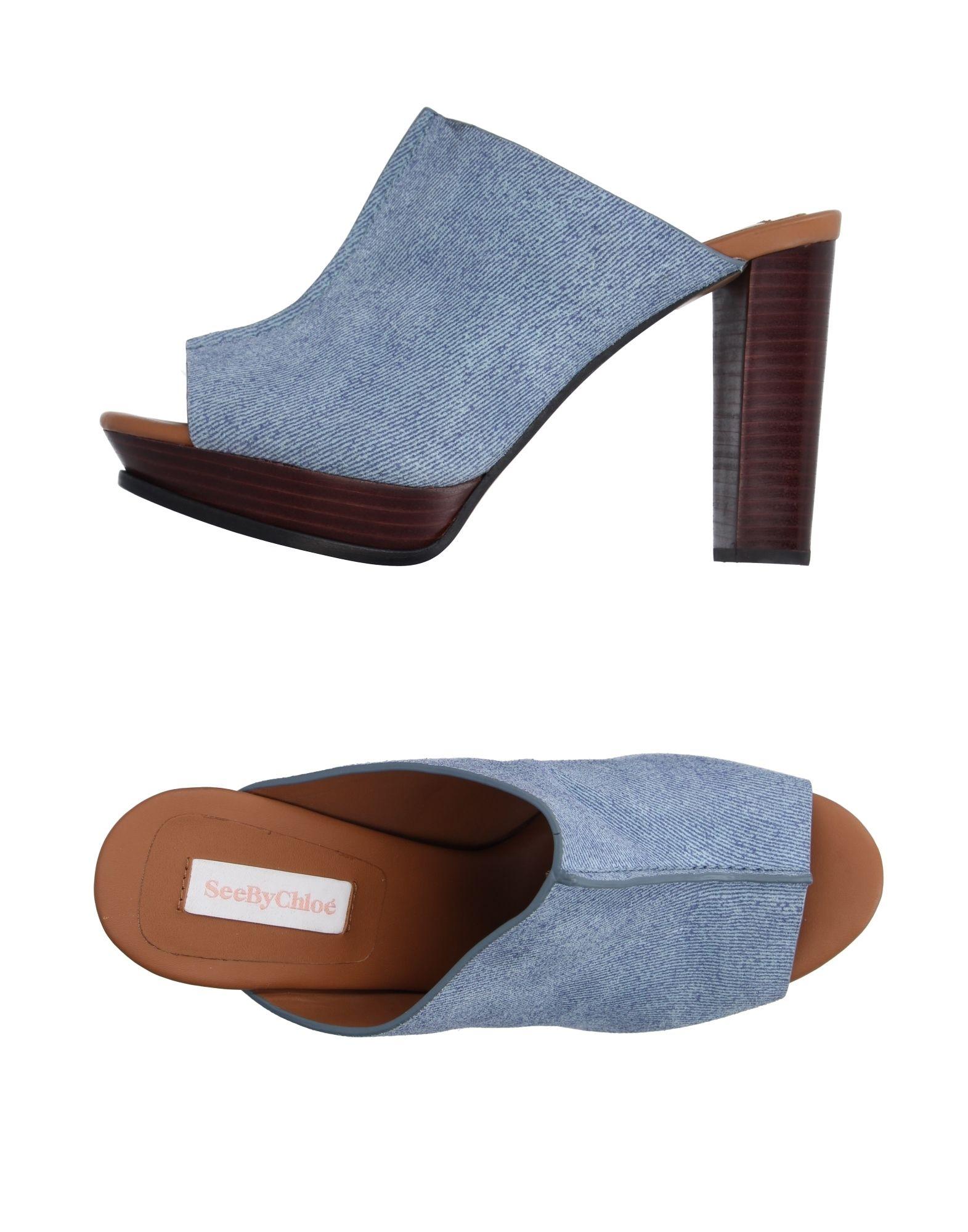 See  By Chloé Sandalen Damen  See 11193758WNGut aussehende strapazierfähige Schuhe a5c42d