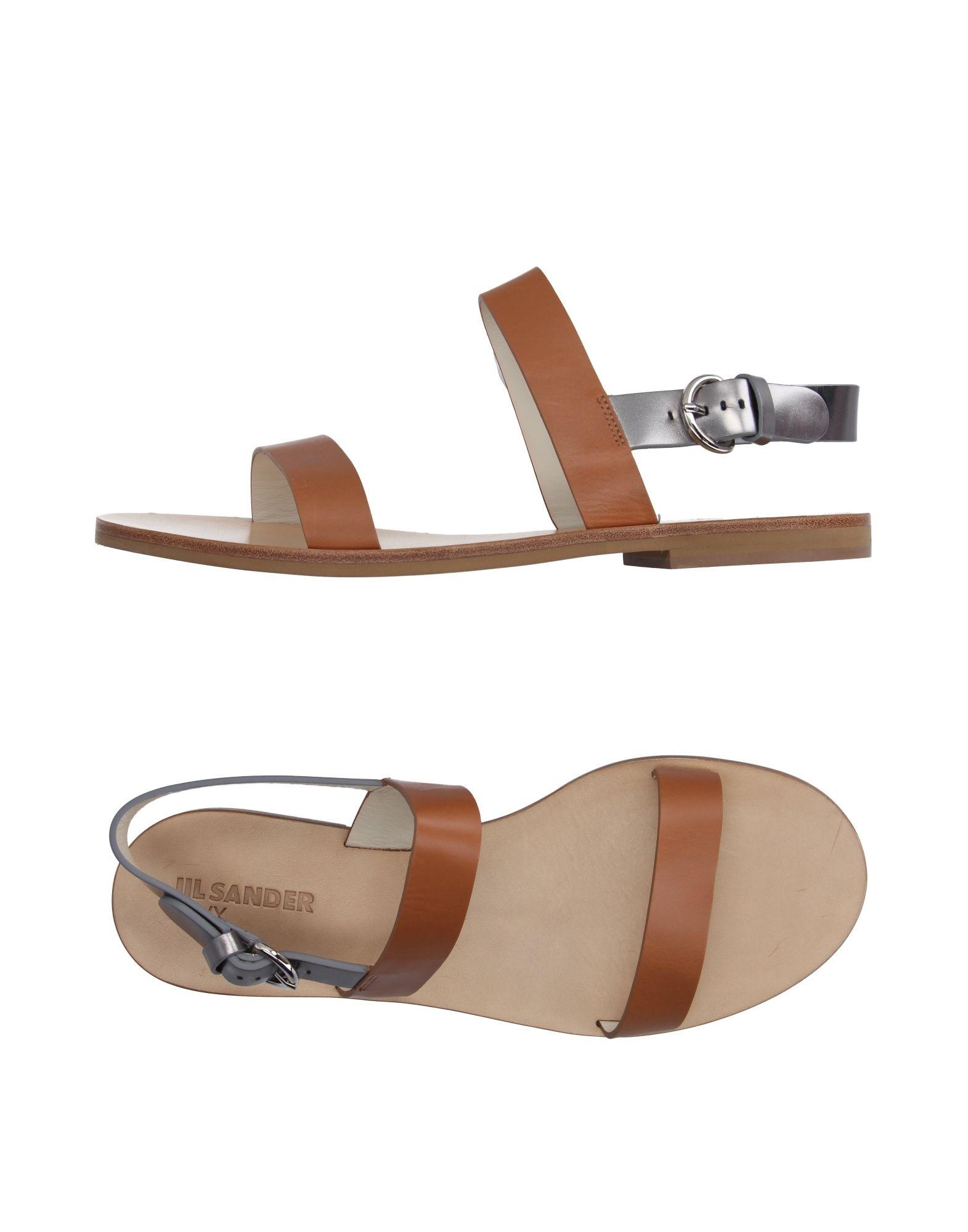 Jil Sander Navy Sandalen Damen  11193961RJ Neue Schuhe
