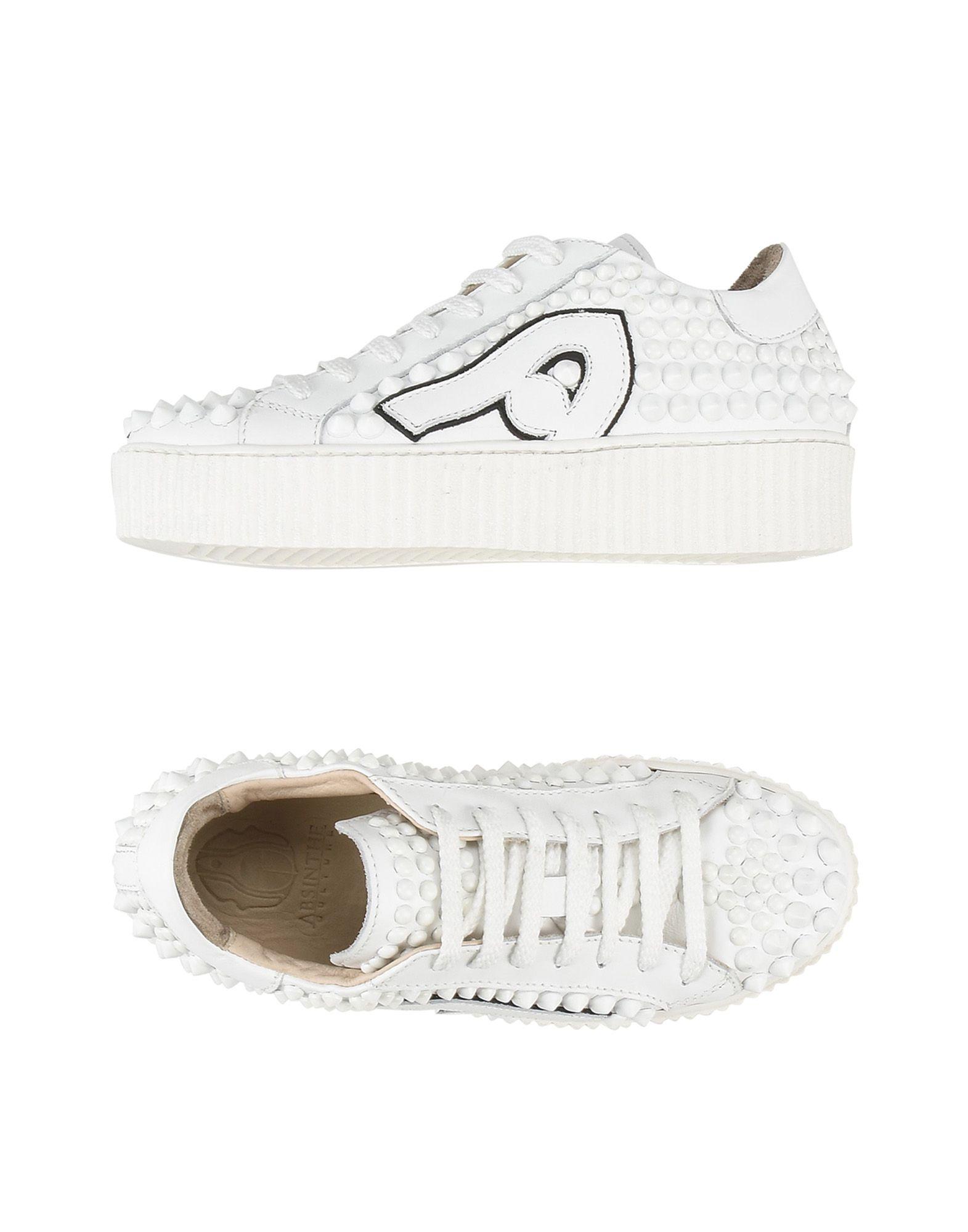 Absinthe Culture Bl28 White+White  11195426CPGut aussehende strapazierfähige Schuhe