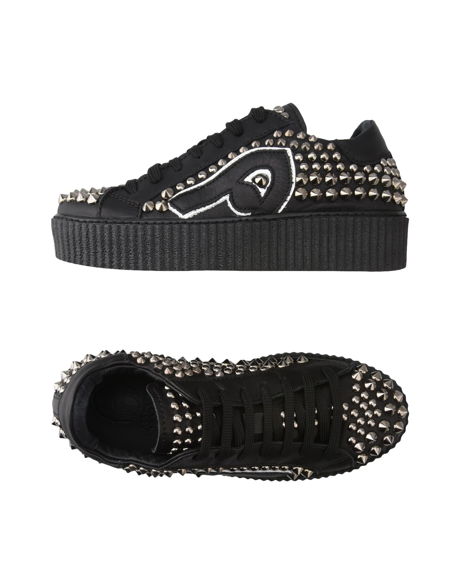 Sneakers Absinthe Culture Bl28 Black+Cannadi Fucile - Donna - 11195429OD