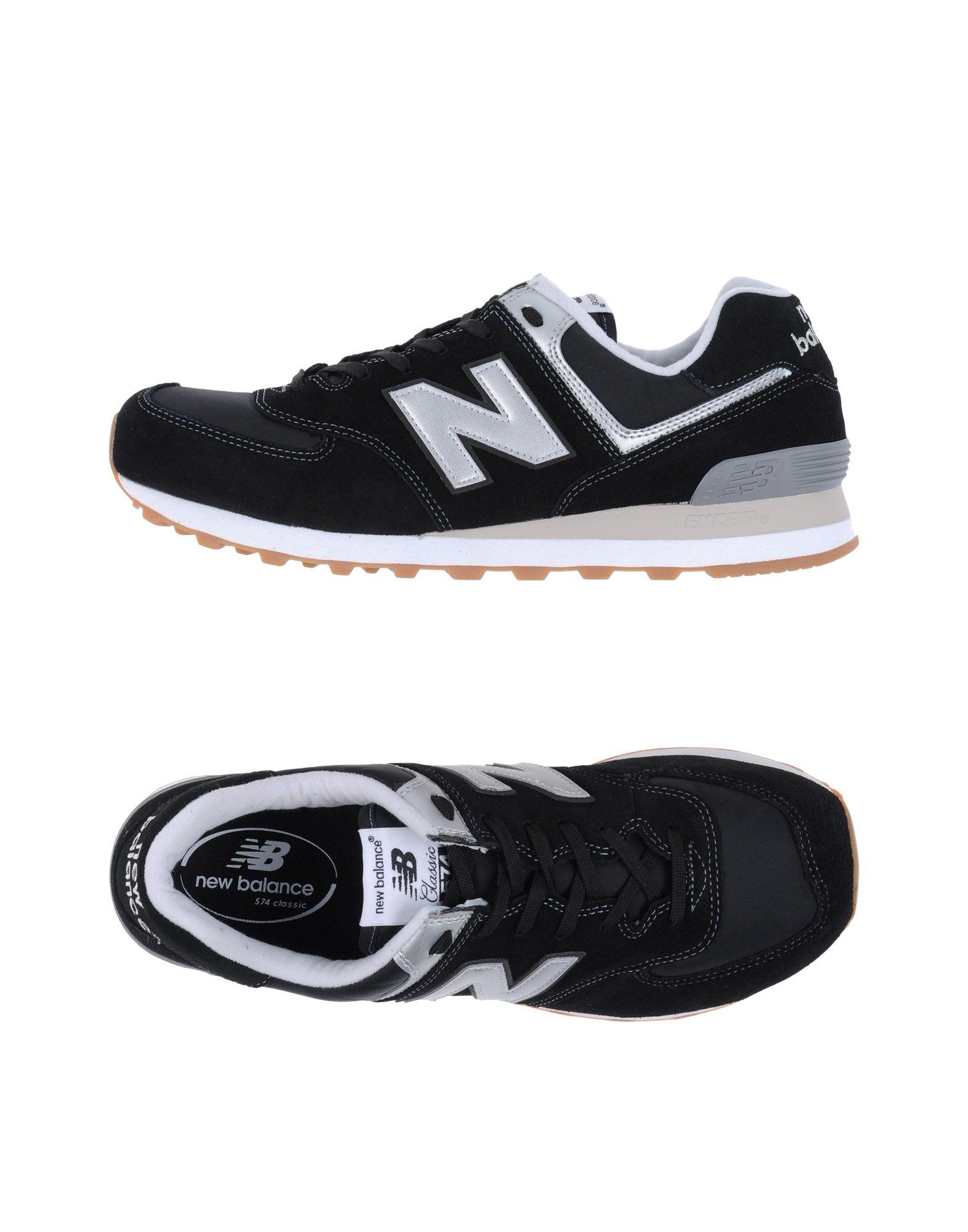 Sneakers New Balance 574 Suede - Nylon Bright - Uomo - 11195562HA