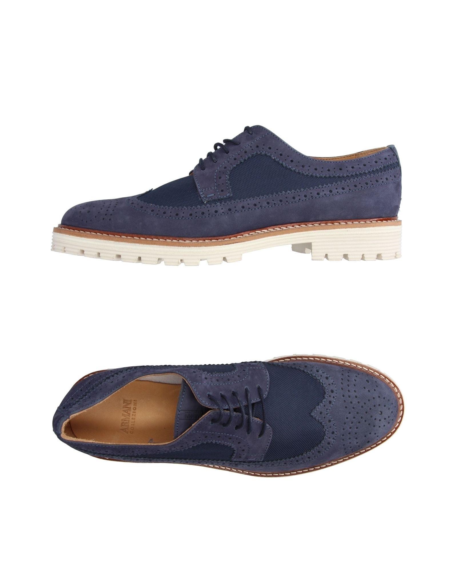 Rabatt echte Schnürschuhe Schuhe Armani Collezioni Schnürschuhe echte Herren 11196059PR 8c52e7