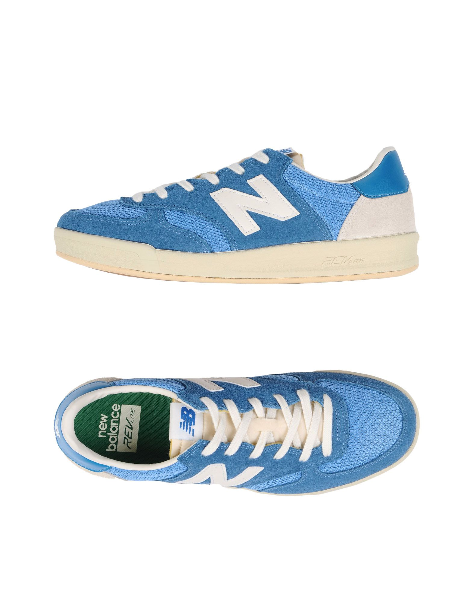 Sneakers New Balance 300 Suede - Mesh - Homme - Sneakers New Balance  Bleu-gris Chaussures casual sauvages