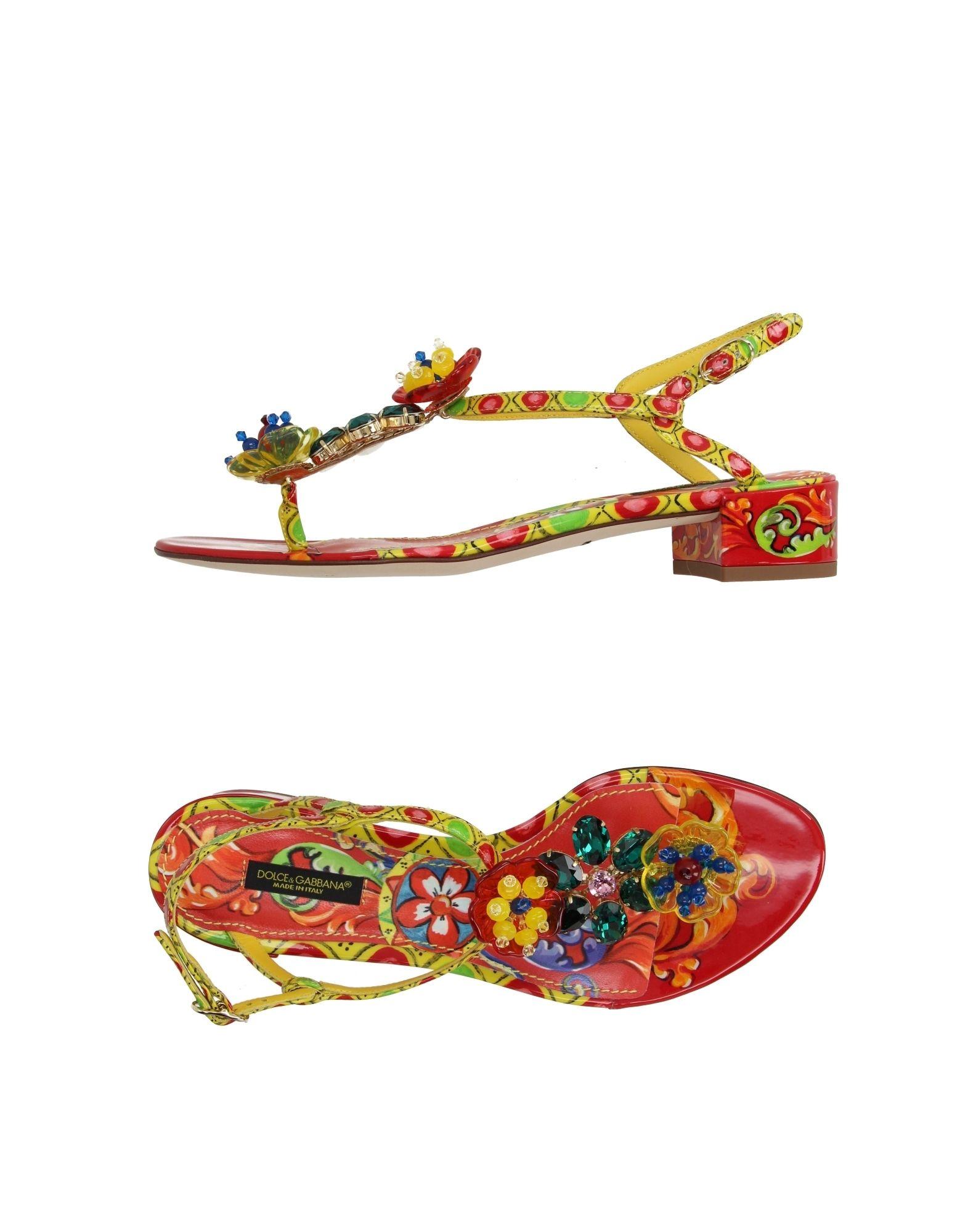 Dolce - & Gabbana Flip Flops - Dolce Women Dolce & Gabbana Flip Flops online on  Canada - 11196921VH 63d63b