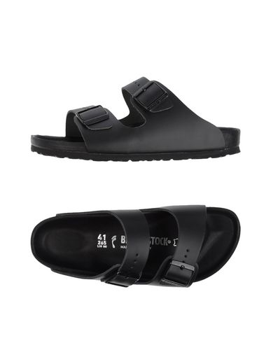 Monterey Leather Double-Buckle Sandals - Black Size 10 M