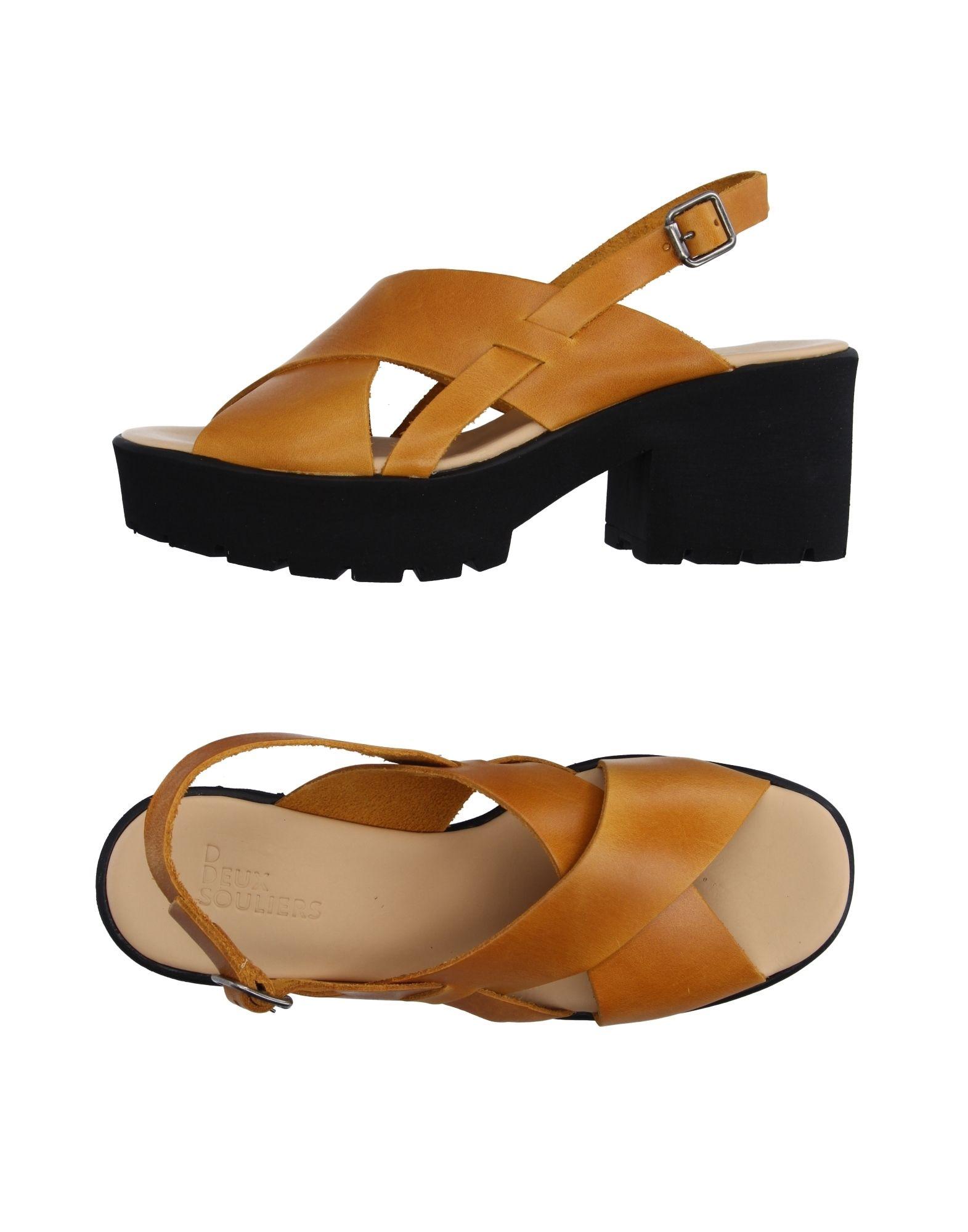 Sandales Deux Souliers Femme - Sandales Deux Souliers sur