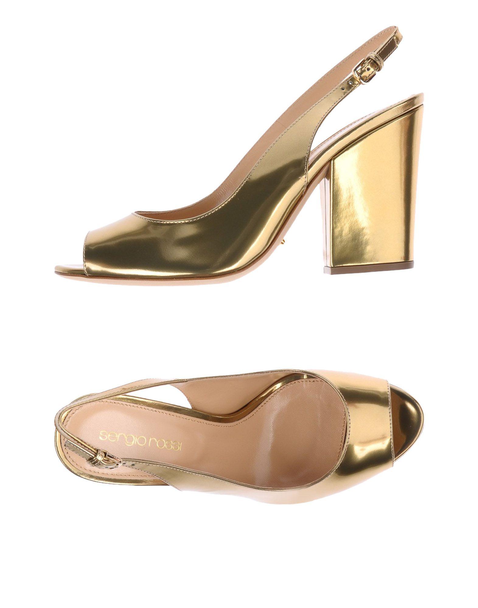 Sergio Rossi Sandalen Damen  11198094WQGünstige gut aussehende Schuhe