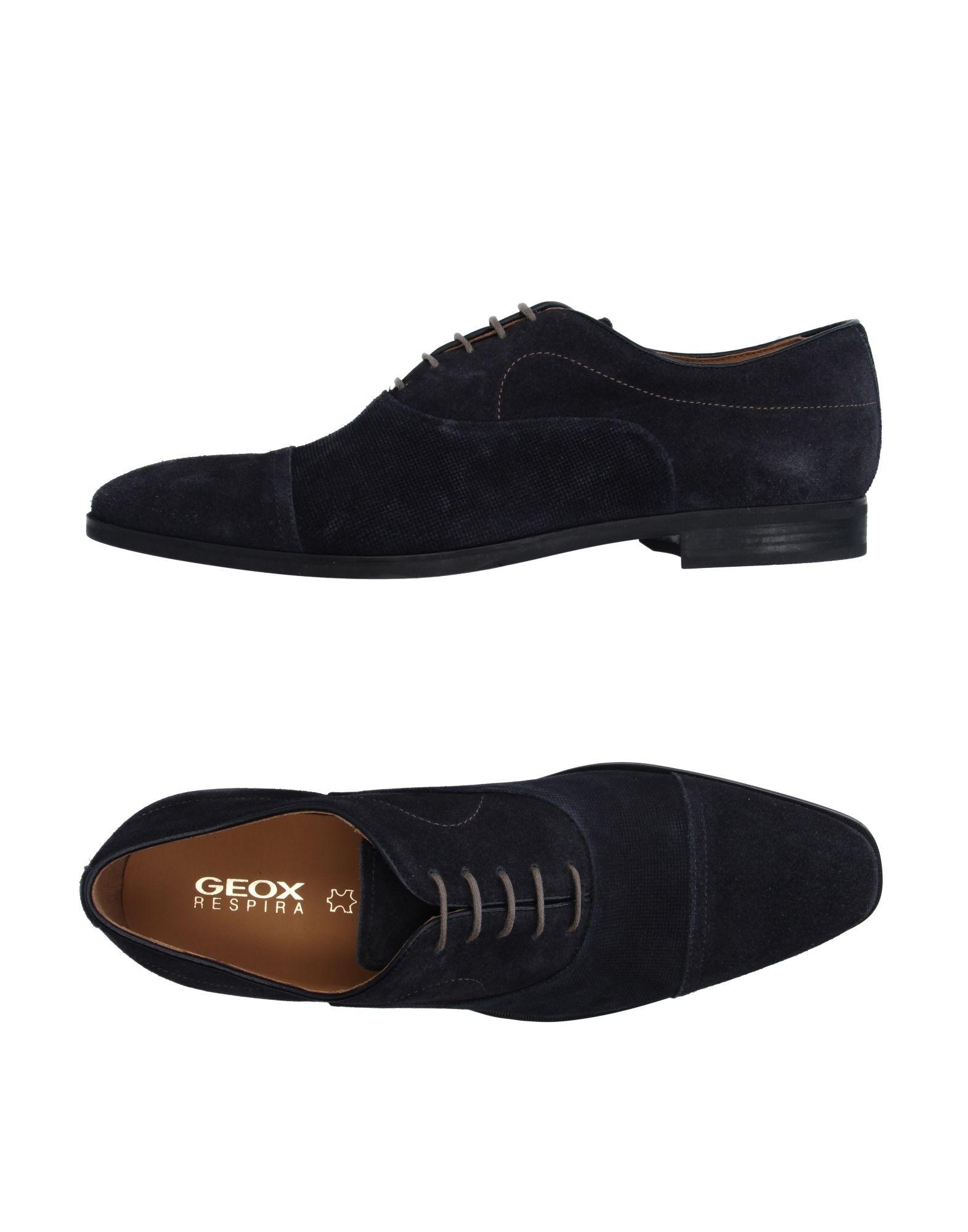 Rabatt echte Schuhe Geox Schnürschuhe Herren  11198375VD