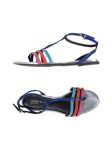 6e47267e891b Armani Jeans Sandals - Women Armani Jeans Sandals online on YOOX ...