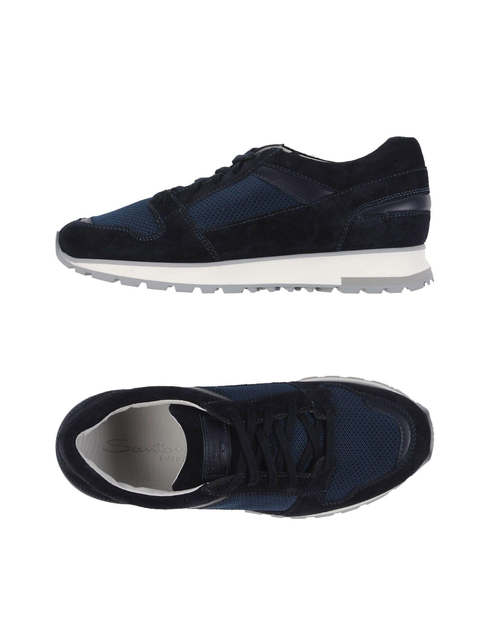 Günstige und modische Schuhe Santoni Sneakers Herren  11199825MX