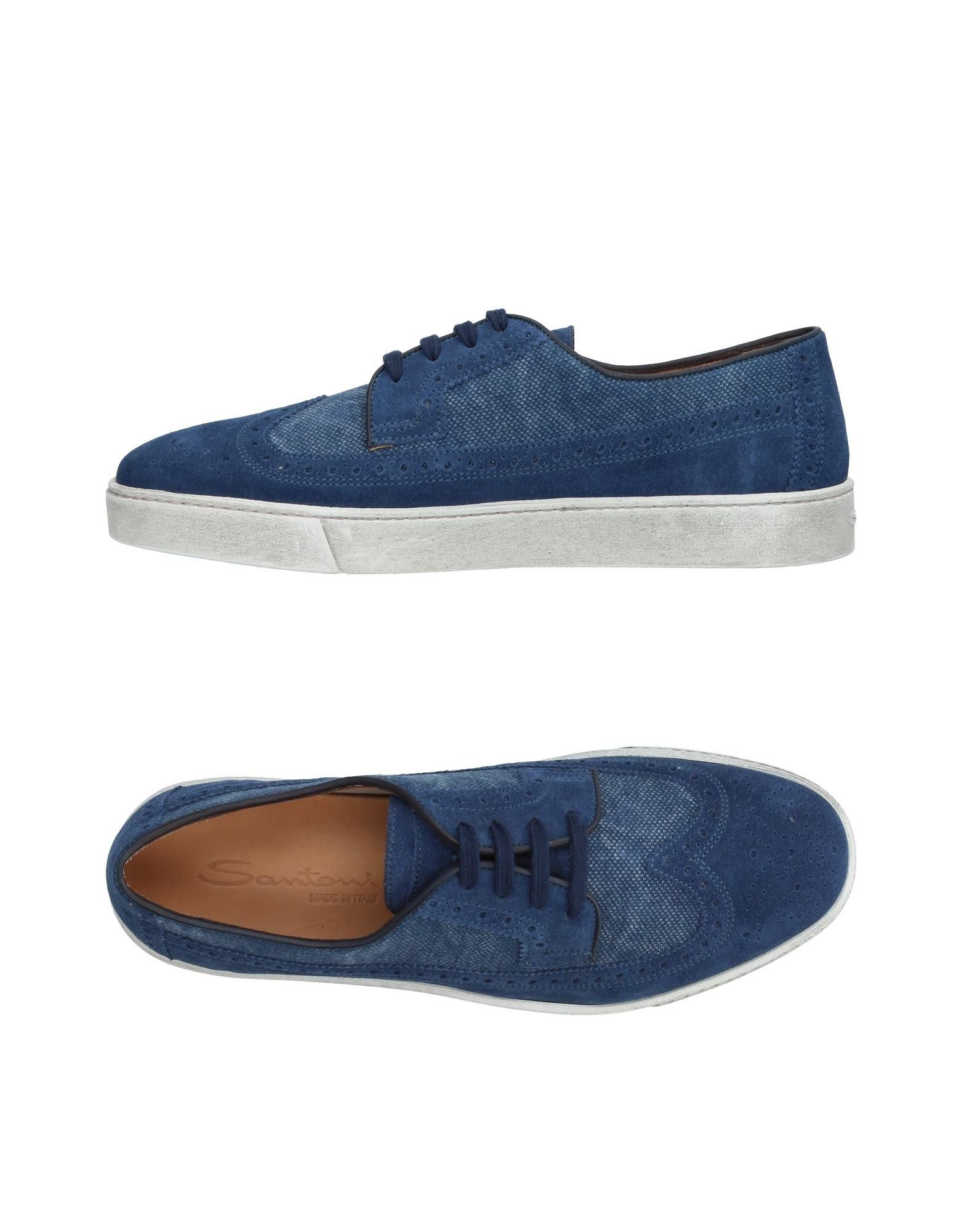 Moda Sneakers Santoni Uomo - 11199872RE