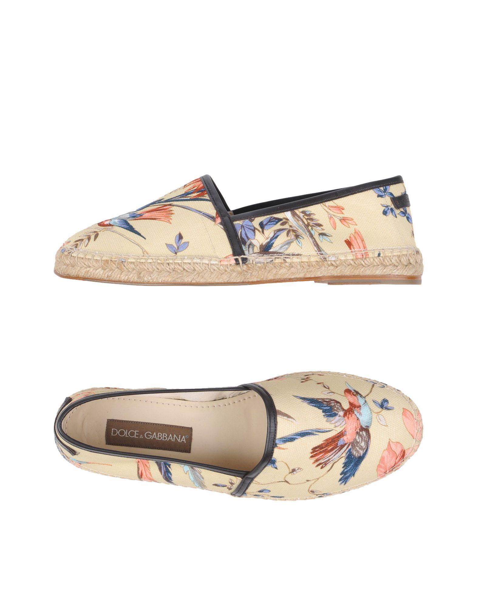 Dolce & Gabbana Espadrilles Herren  11200629RW Gute Qualität beliebte Schuhe